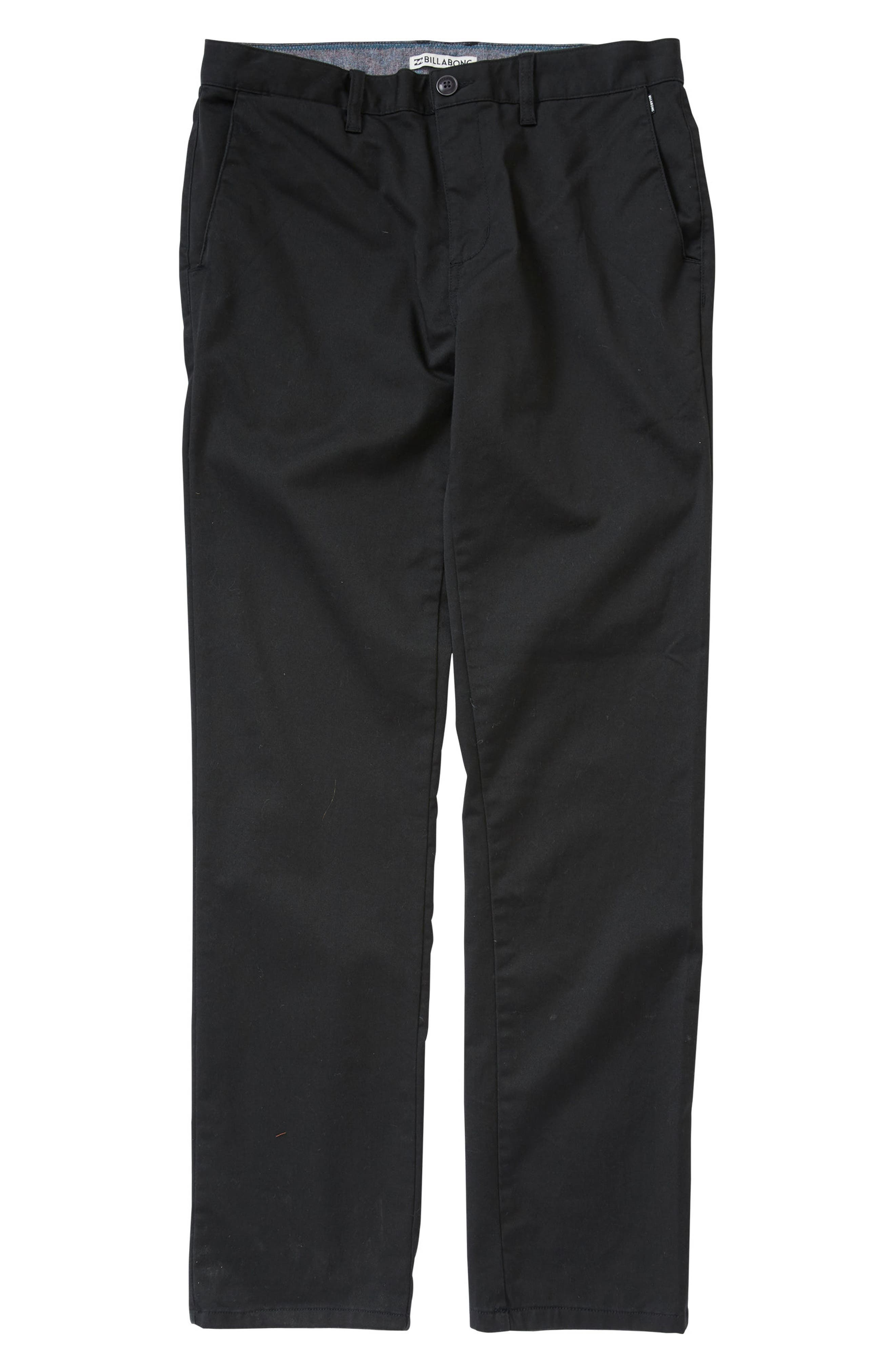 Carter Stretch Twill Chinos,                         Main,                         color, 001
