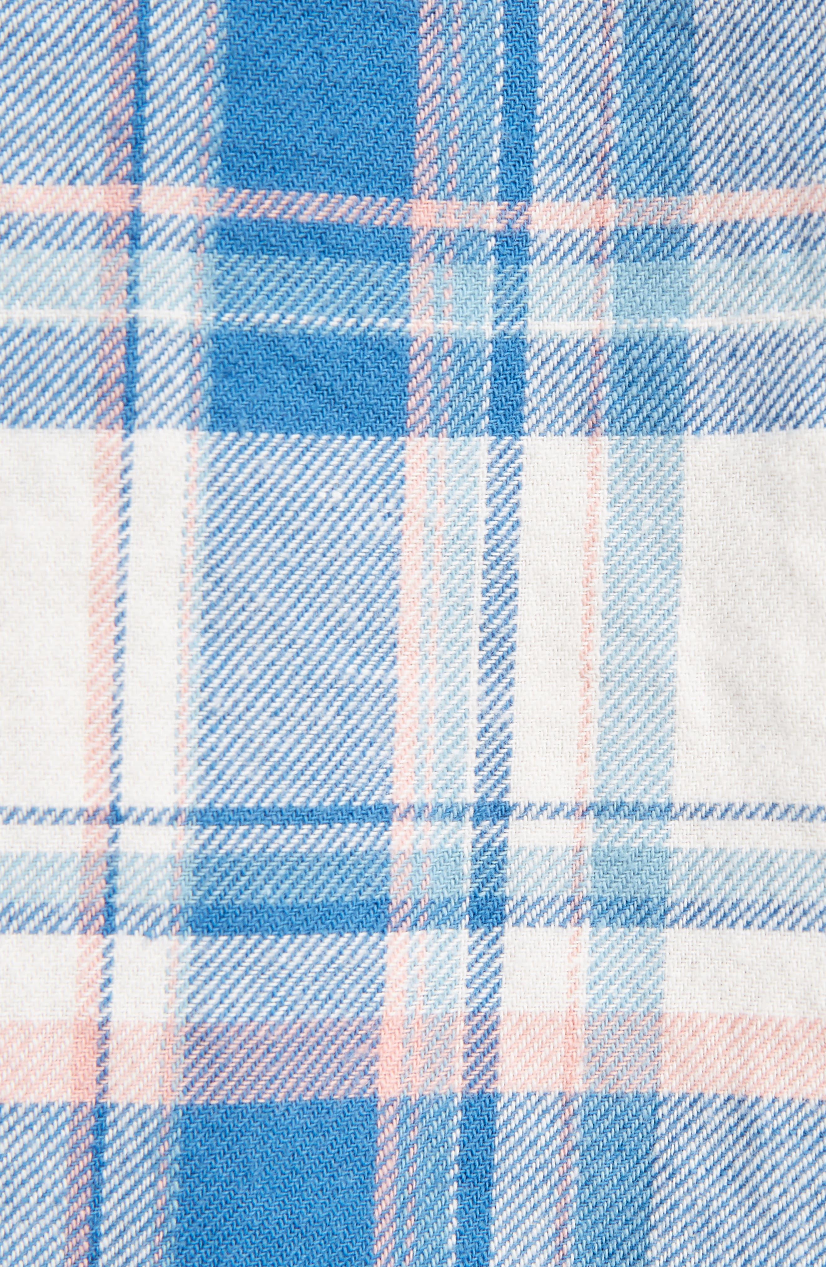 Plaid Western Shirt,                             Alternate thumbnail 5, color,                             482
