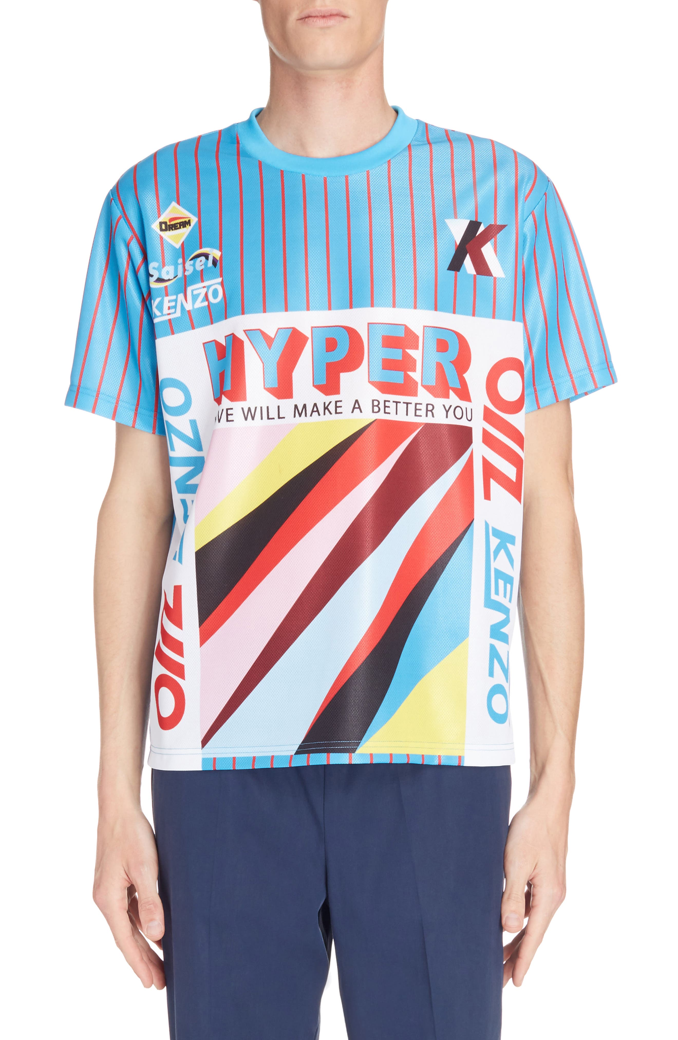 Hyper Print T-Shirt,                         Main,                         color, 441