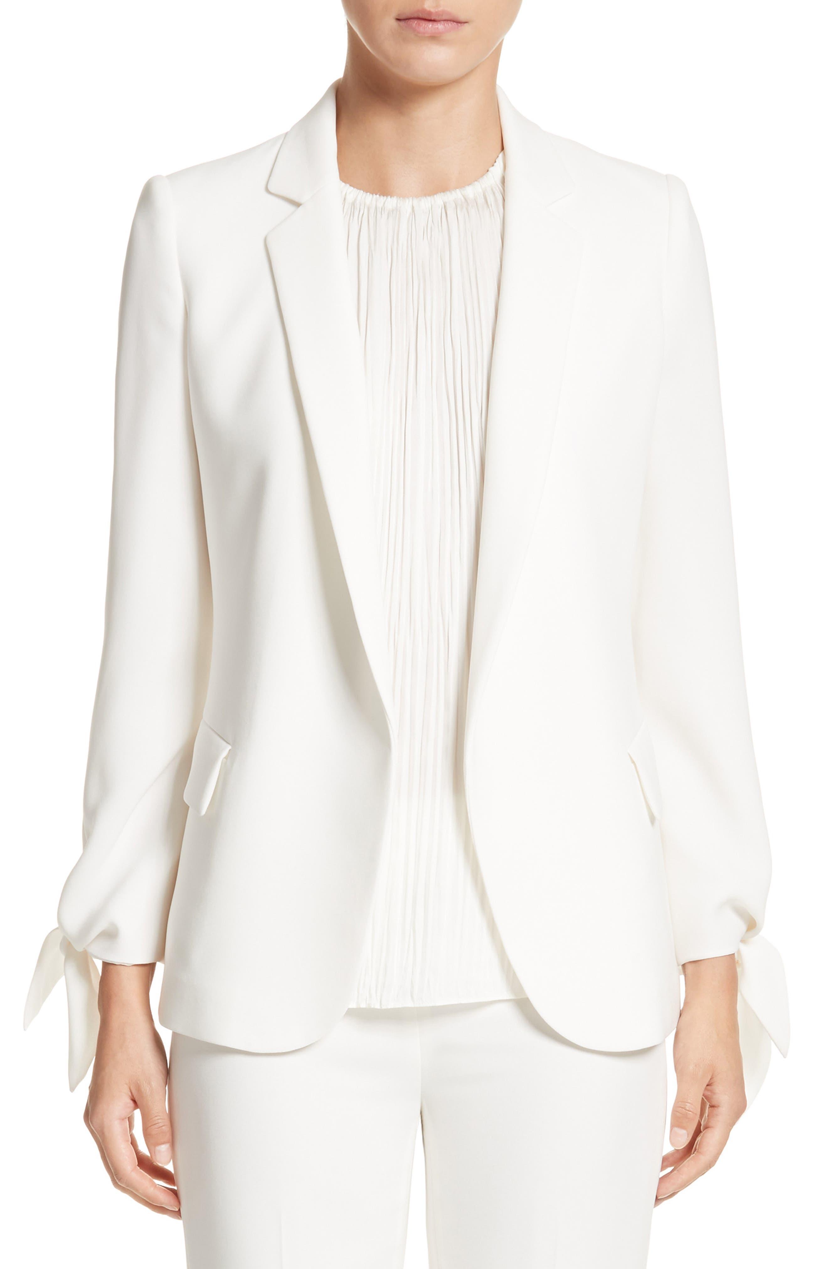 Bria Finesse Crepe Jacket,                         Main,                         color, 141