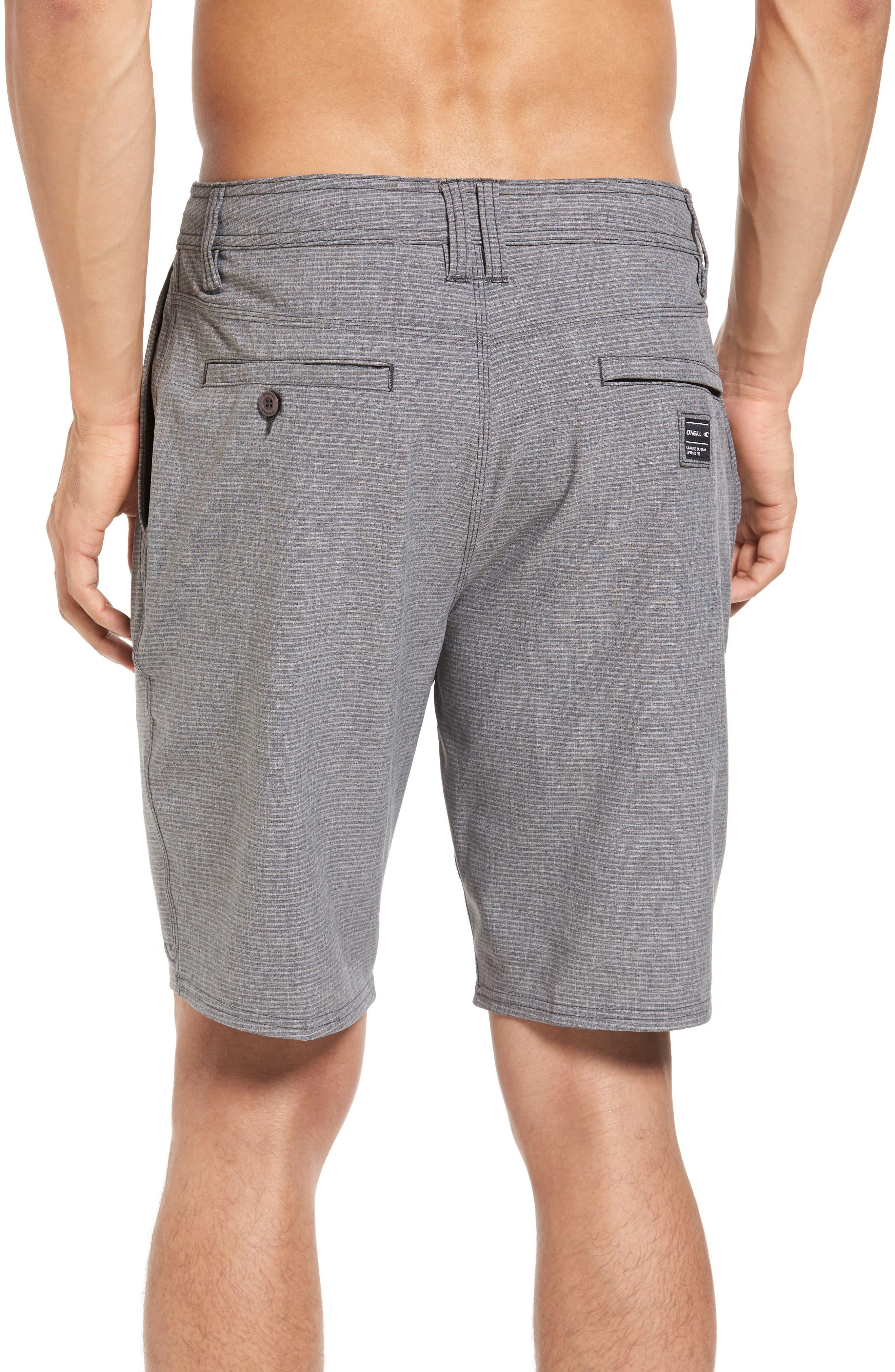 Locked Stripe Hybrid Shorts,                             Alternate thumbnail 2, color,                             001