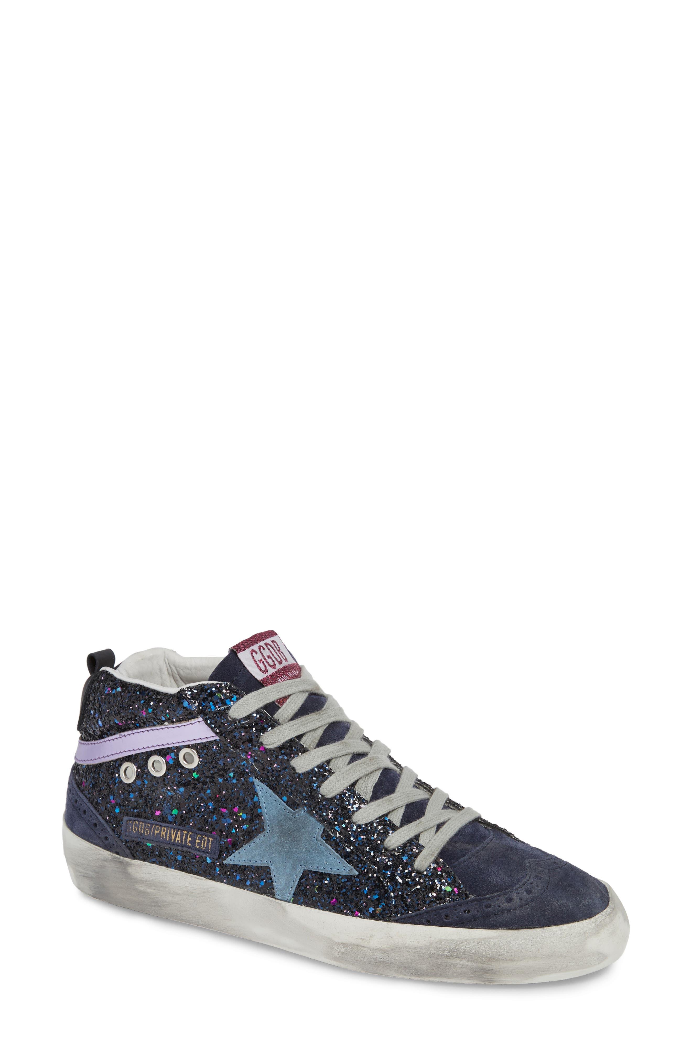 Mid Star Glitter Sneaker,                         Main,                         color, 400