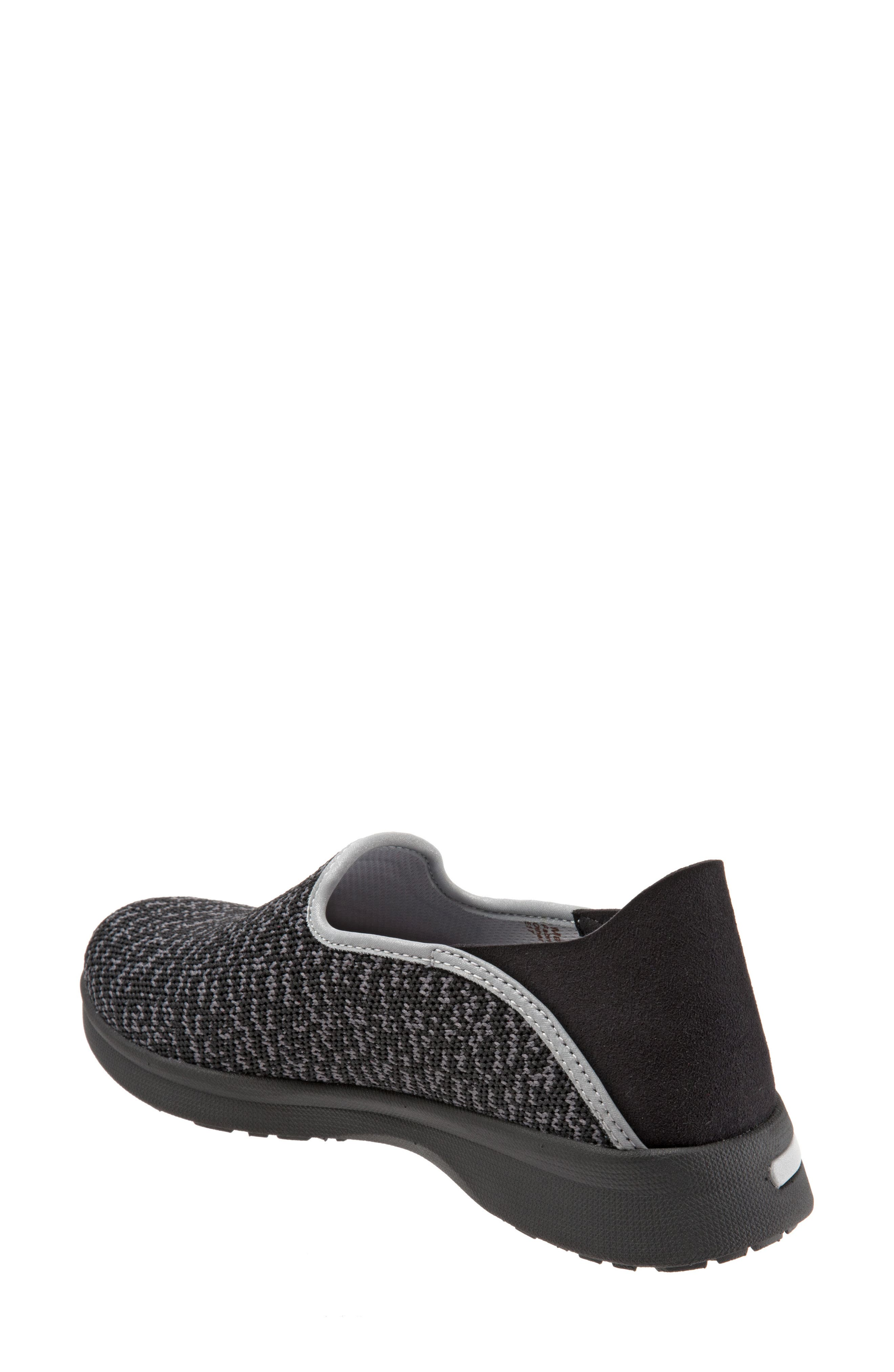 Simba Convertible Slip-On,                             Alternate thumbnail 3, color,                             BLACK FABRIC