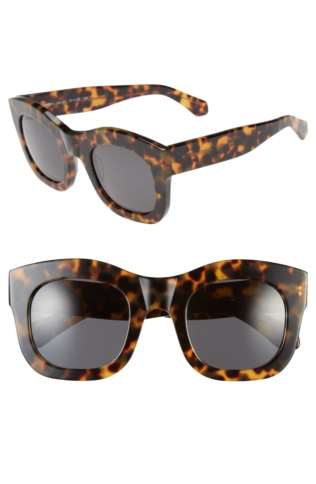 'Hamilton' 49mm Retro Sunglasses,                             Main thumbnail 6, color,