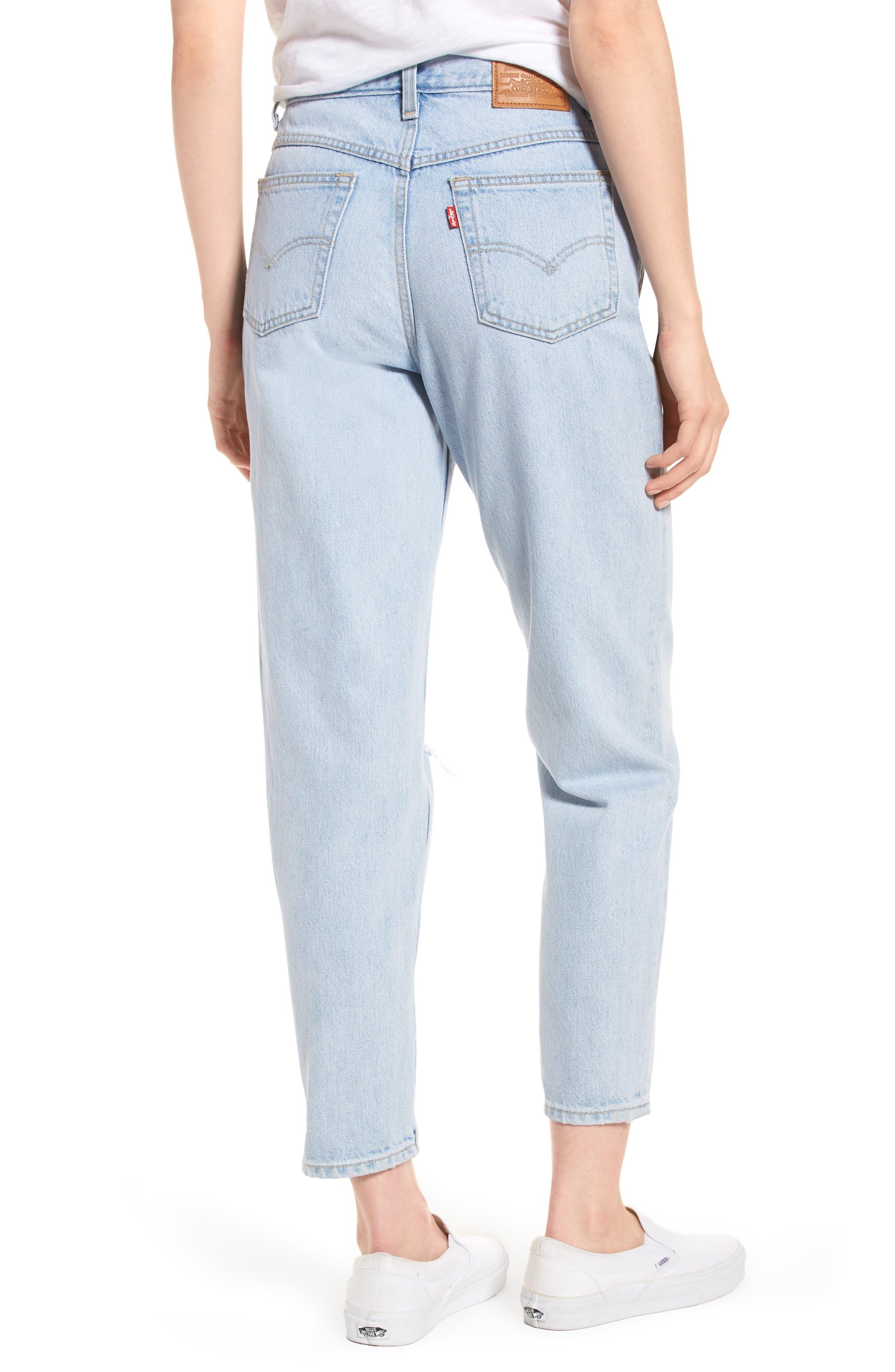 Mom High Waist Jeans,                             Alternate thumbnail 2, color,                             450