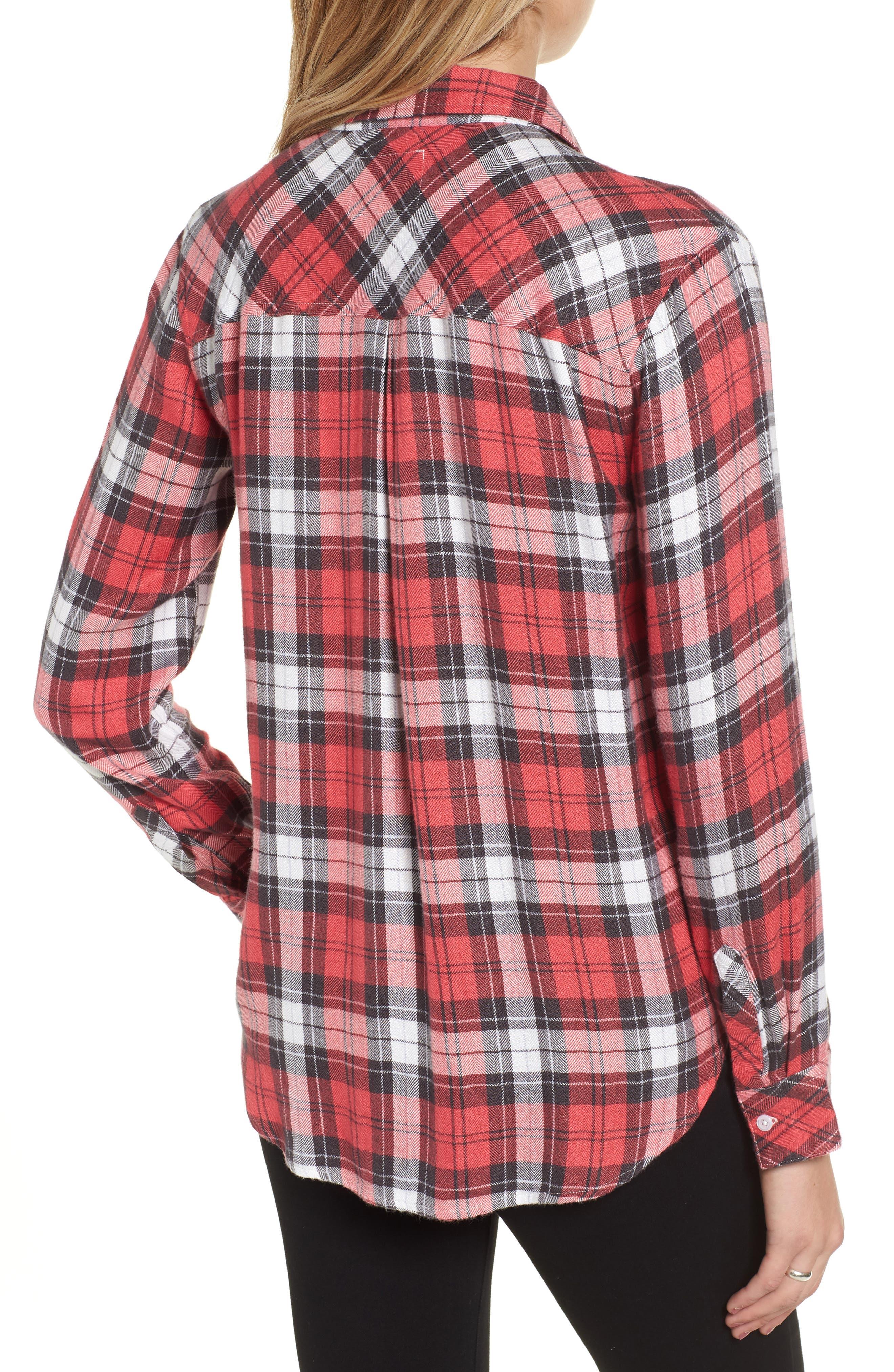 Hunter Plaid Shirt,                             Alternate thumbnail 220, color,