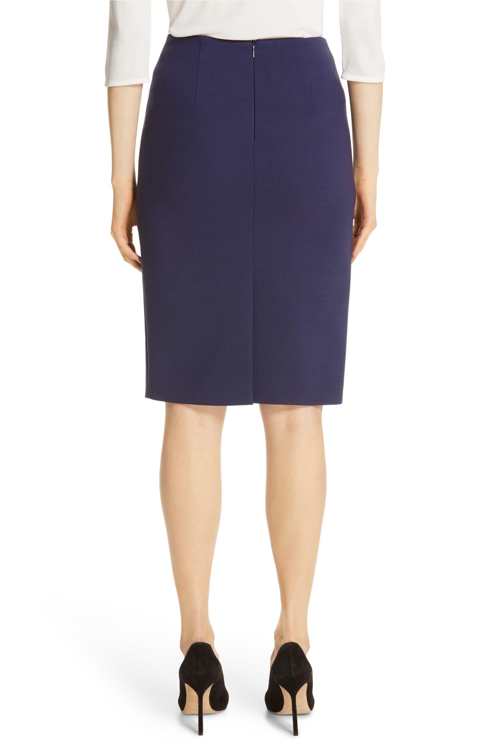 c79f811c4b2 BOSS Virera Ponte Pencil Skirt (Regular   Petite)