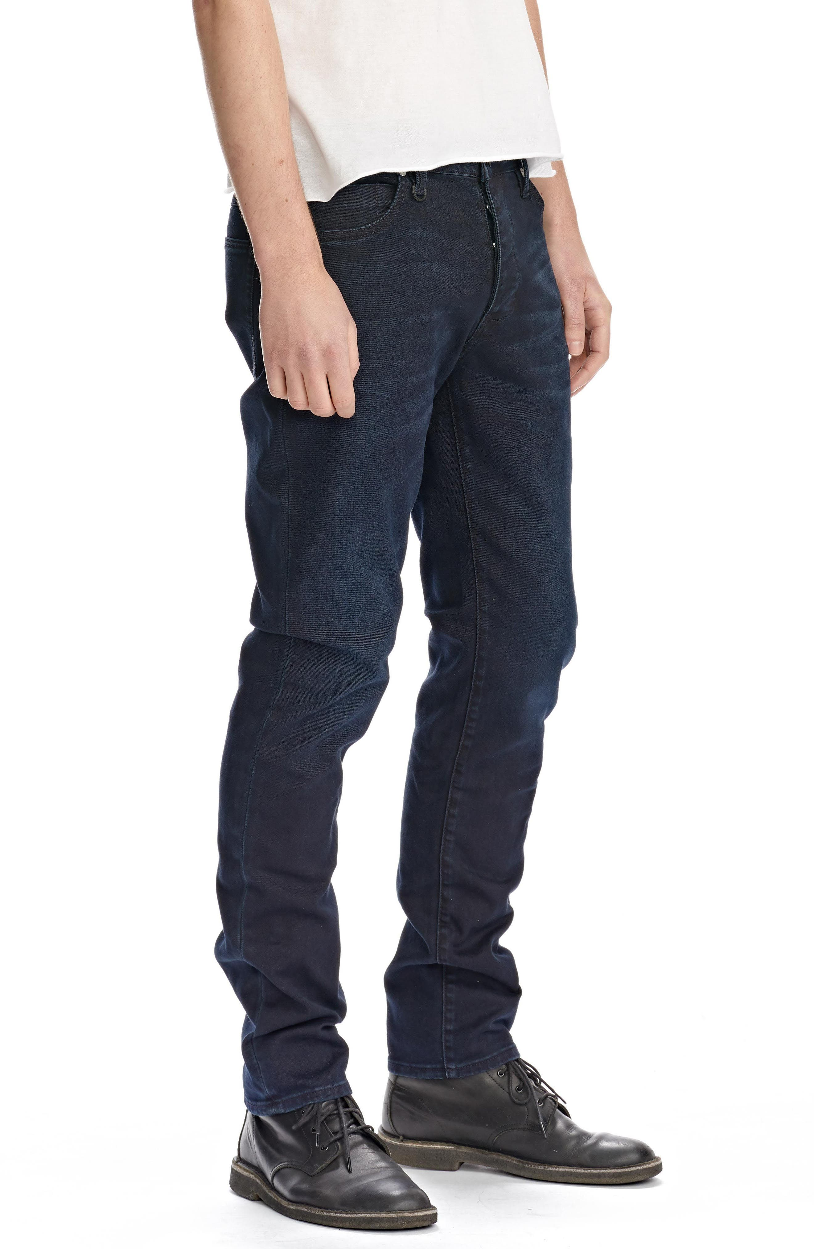 Lou Slim Fit Jeans,                             Alternate thumbnail 3, color,                             400
