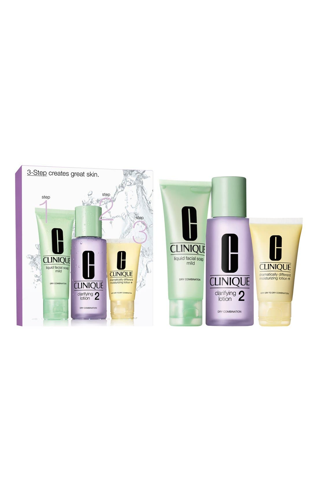 3-Step Skincare Introduction Kit for Combination Oily to Oily Skin,                             Alternate thumbnail 3, color,