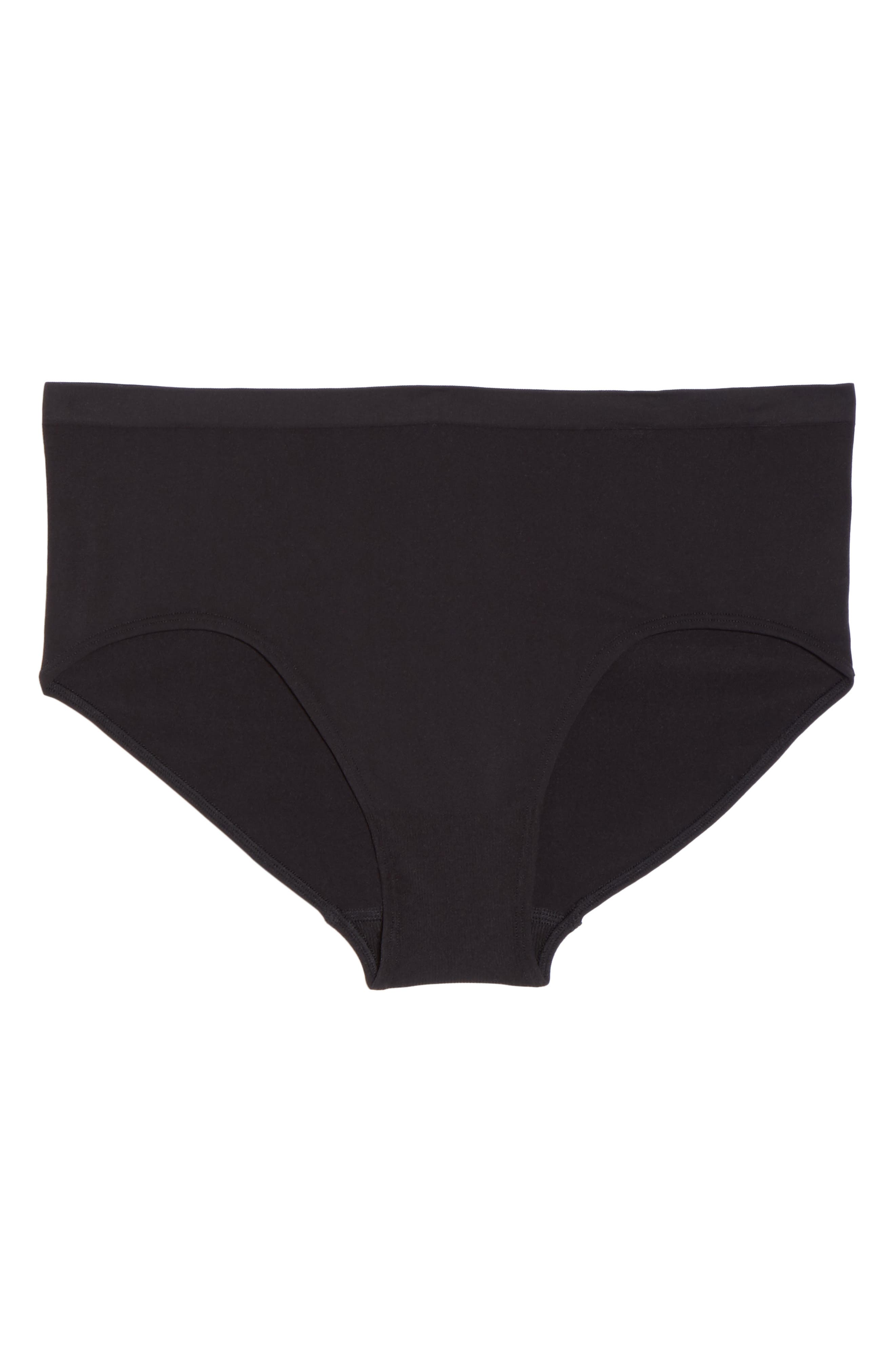 Seamless Hipster Briefs,                             Alternate thumbnail 5, color,                             001