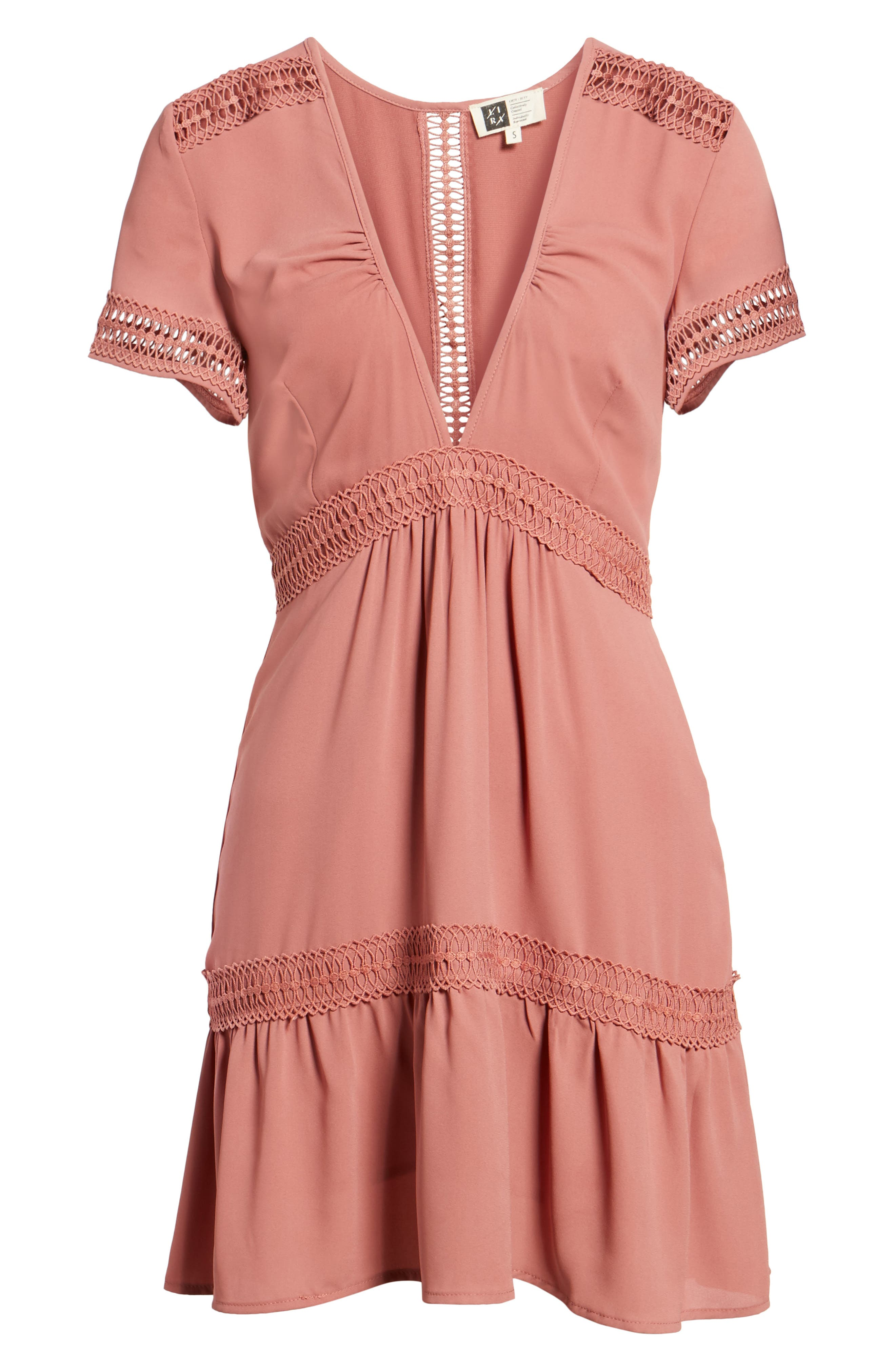 Take Hold Tiered Dress,                             Alternate thumbnail 12, color,