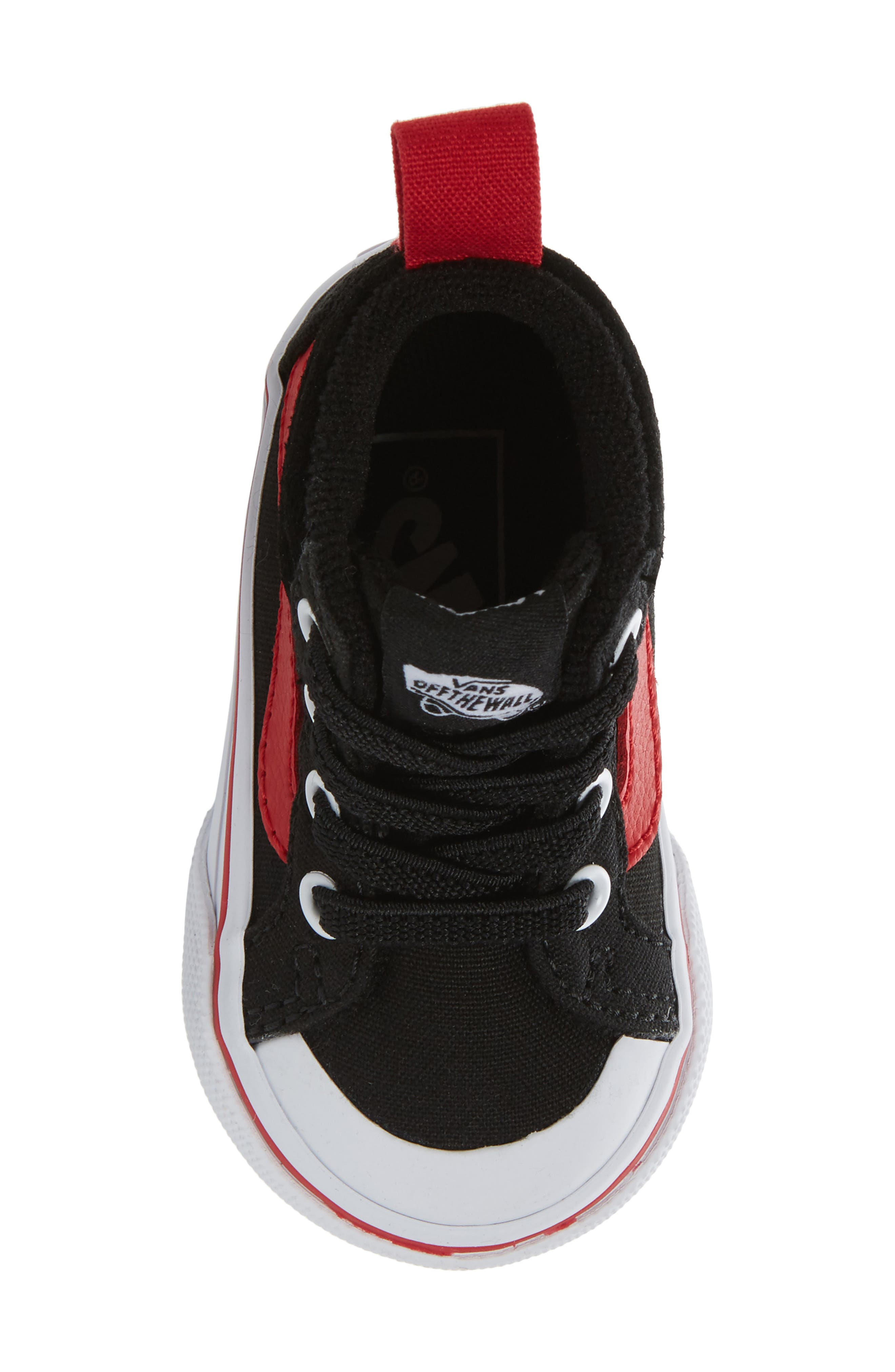 Racer Mid Elastic Lace Sneaker,                             Alternate thumbnail 34, color,