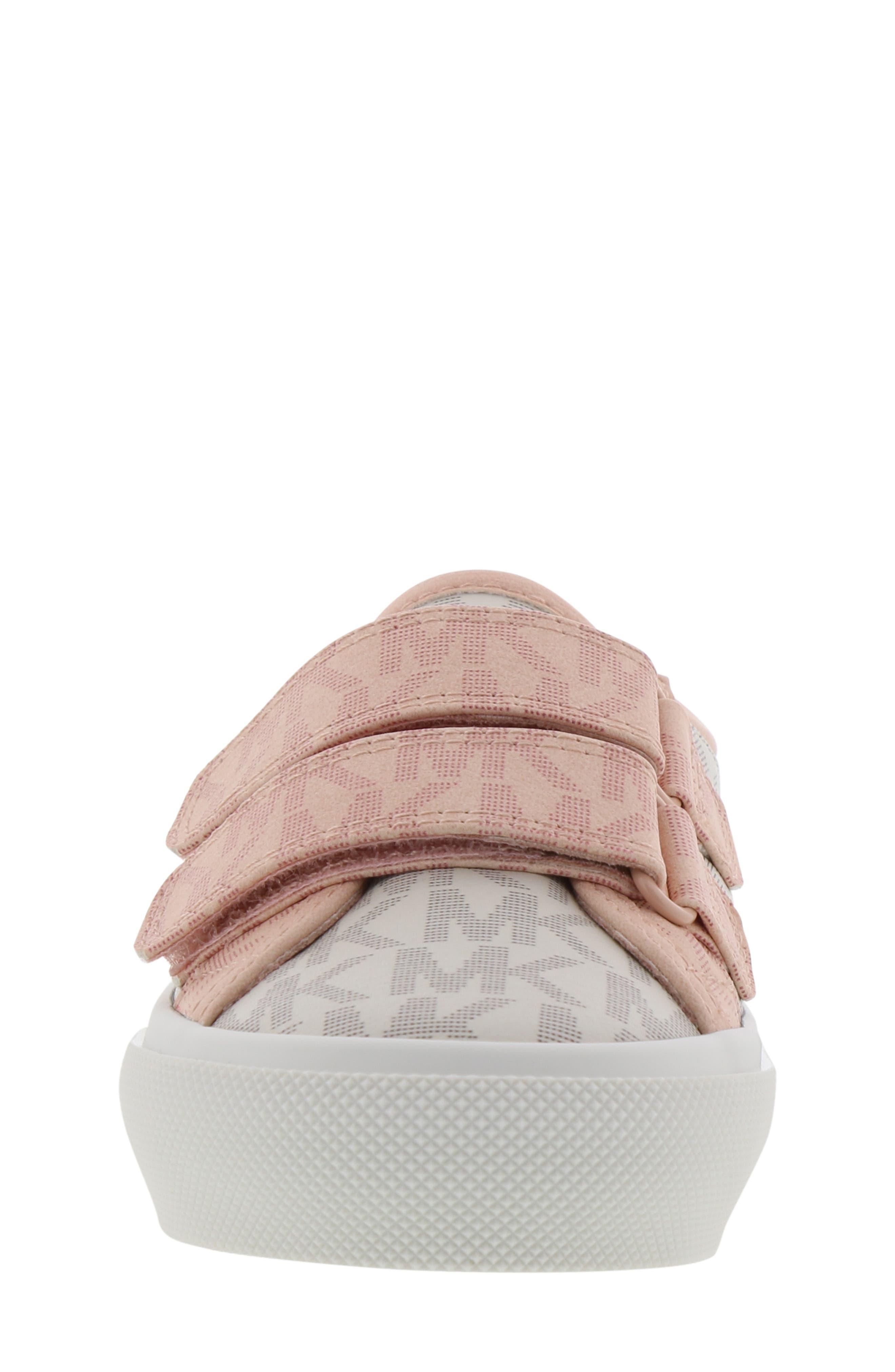 Ima Double Platform Sneaker,                             Alternate thumbnail 4, color,                             VANILLA/ BLUSH