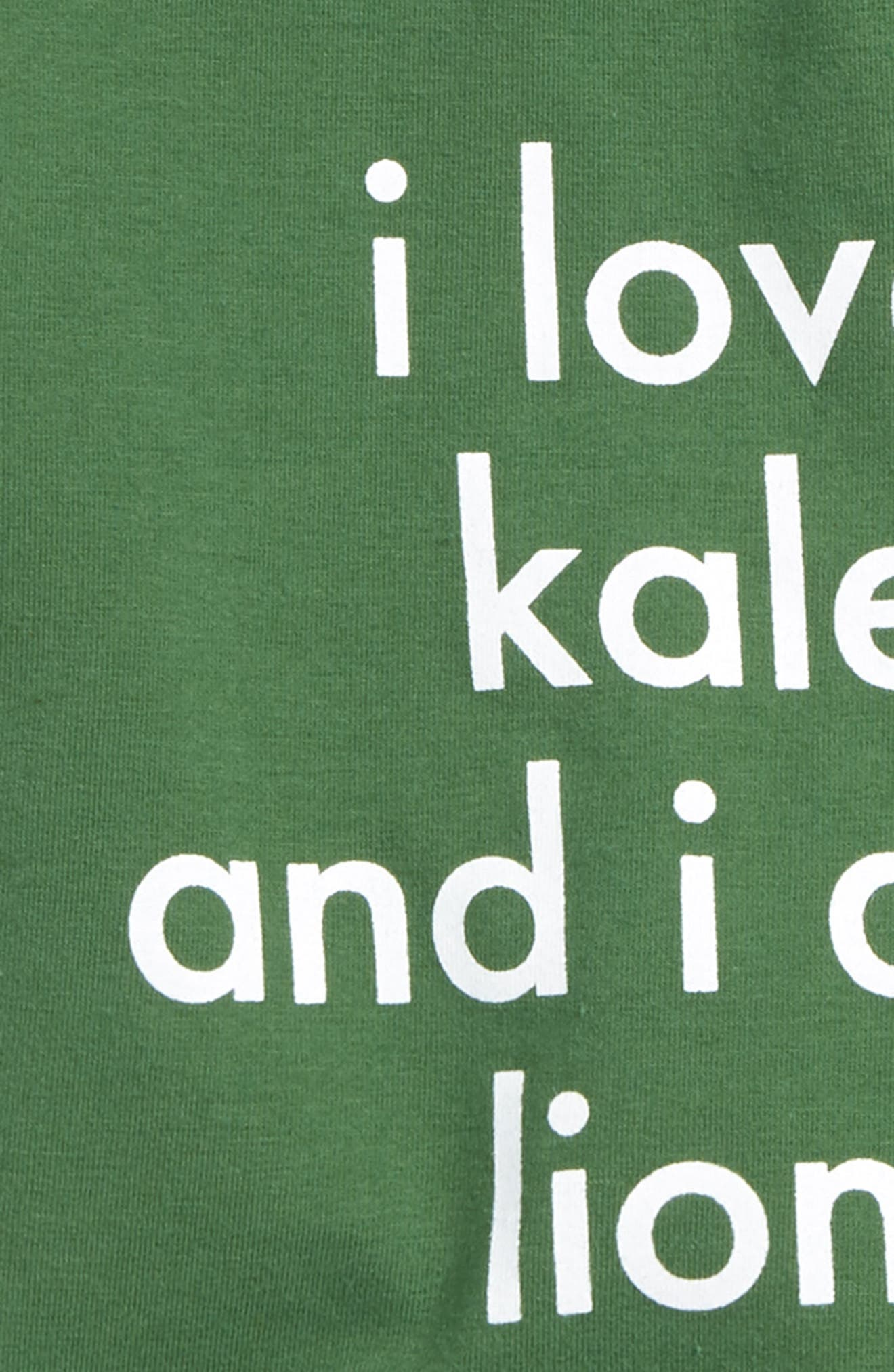 I Love Kale T-Shirt & Shorts Set,                             Alternate thumbnail 2, color,                             399