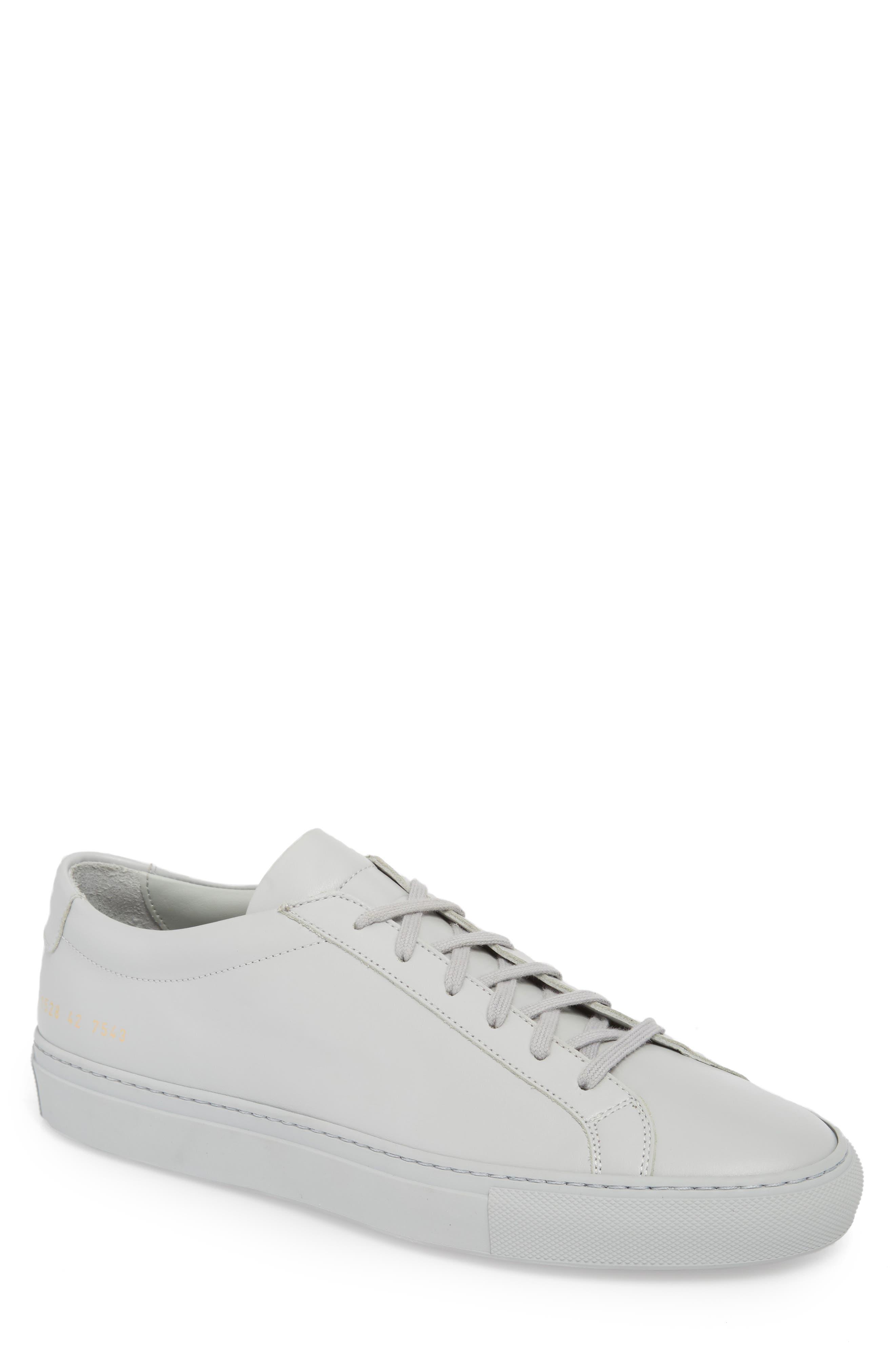 Original Achilles Sneaker,                         Main,                         color, GREY LEATHER