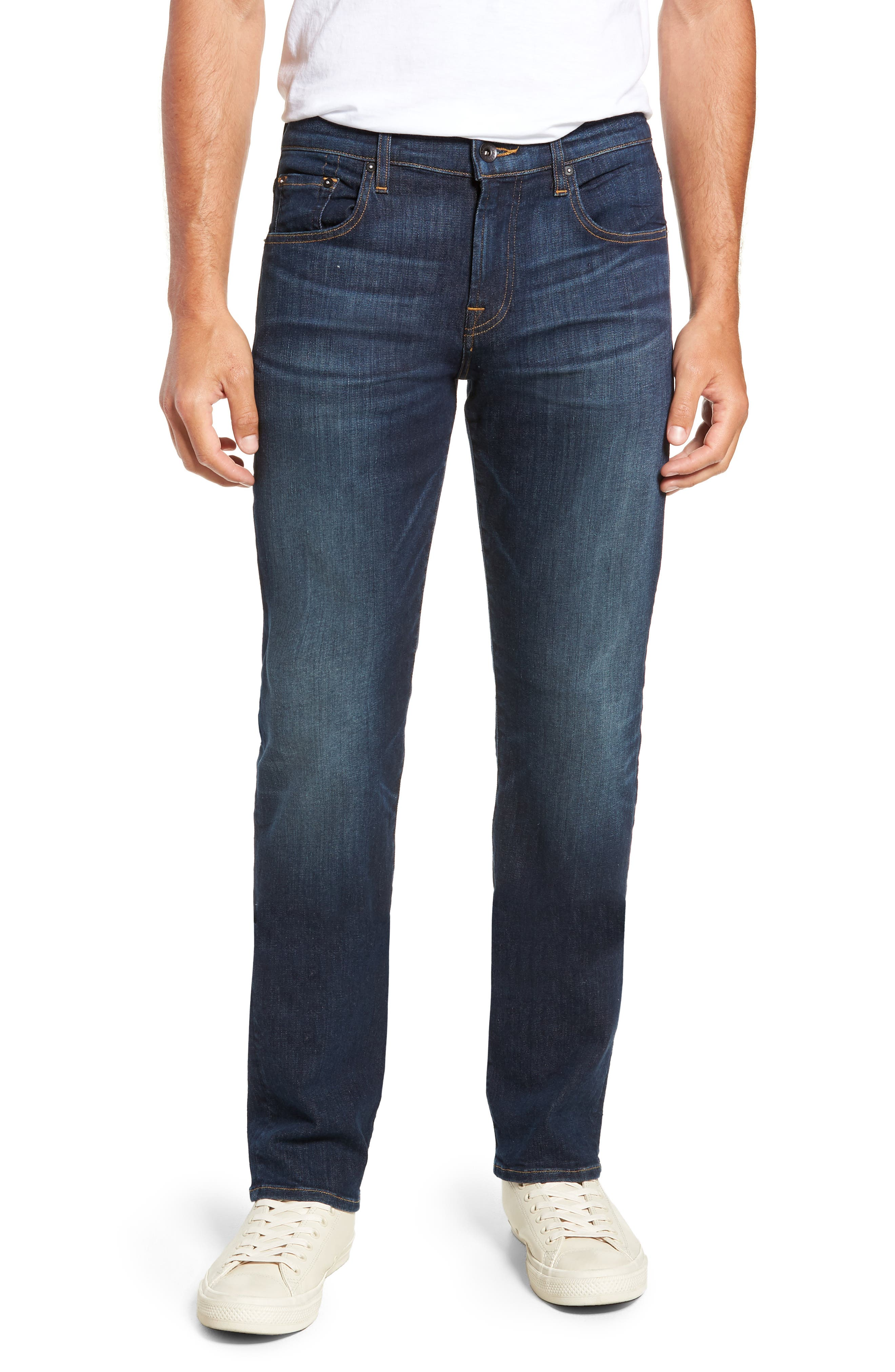 The Straight Luxe Sport Straight Leg Jeans,                             Main thumbnail 1, color,                             404