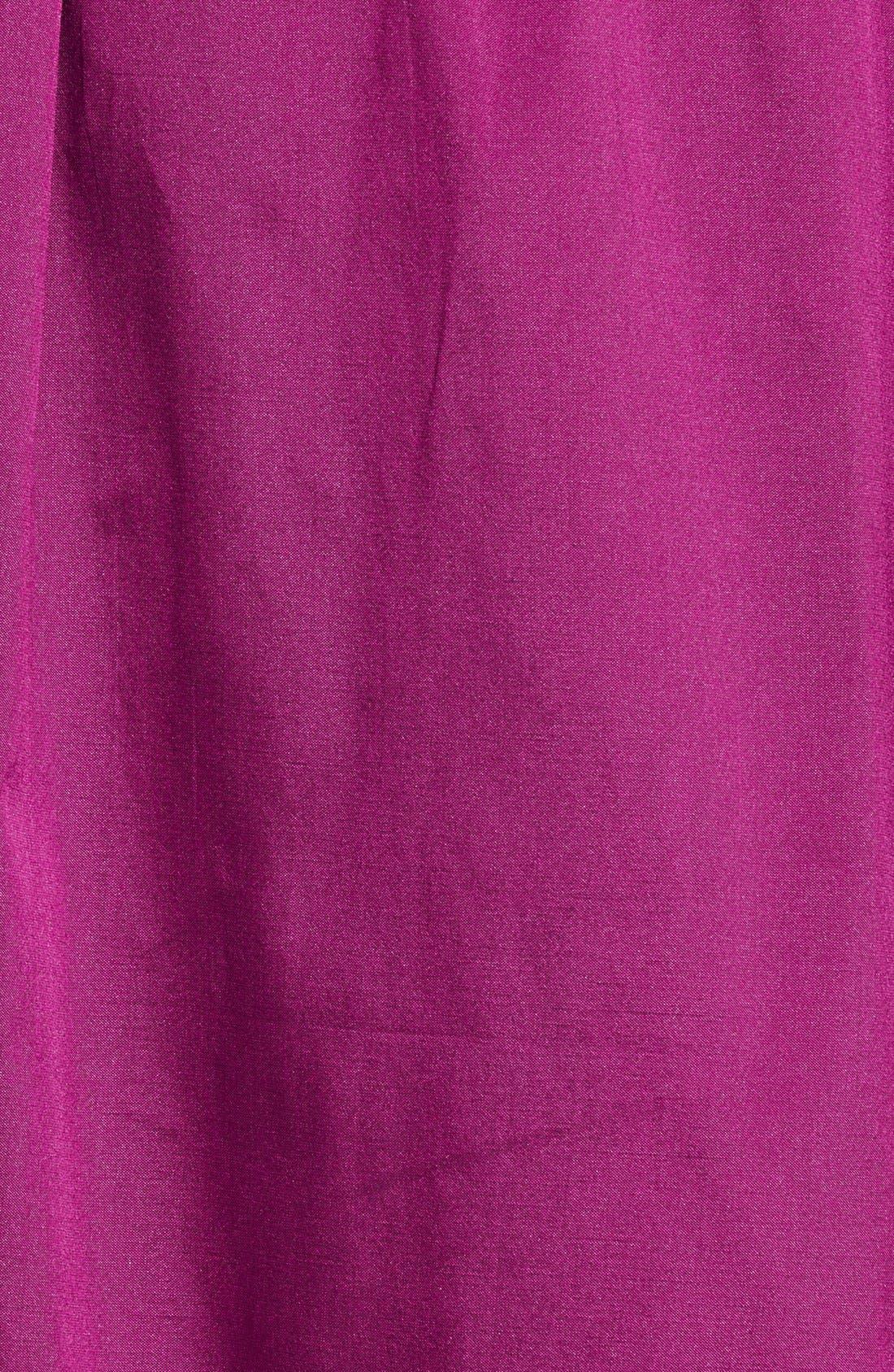 Sleeveless Taffeta & Tulle Gown,                             Alternate thumbnail 2, color,                             650