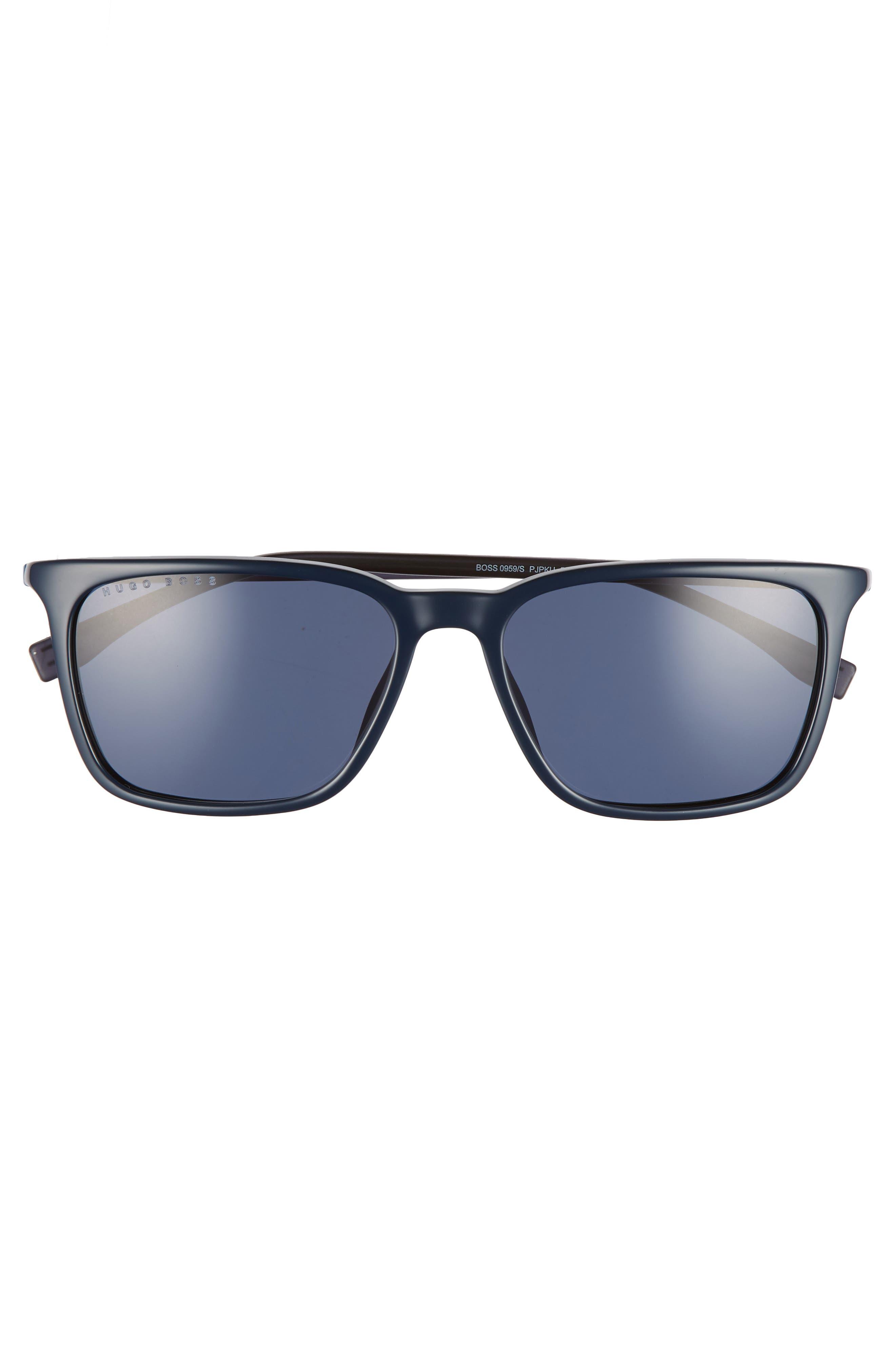 56mm Sunglasses,                             Alternate thumbnail 2, color,                             BLUE