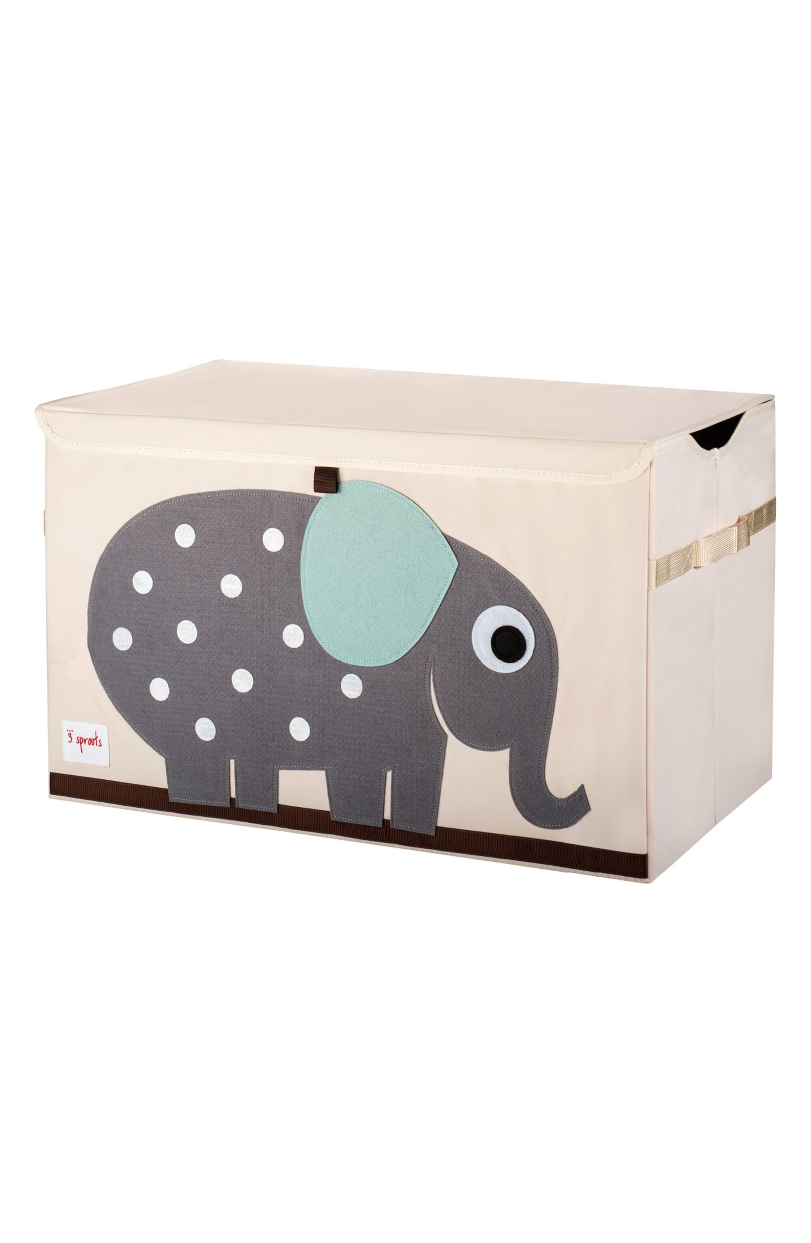 Elephant Toy Chest,                             Main thumbnail 1, color,                             020