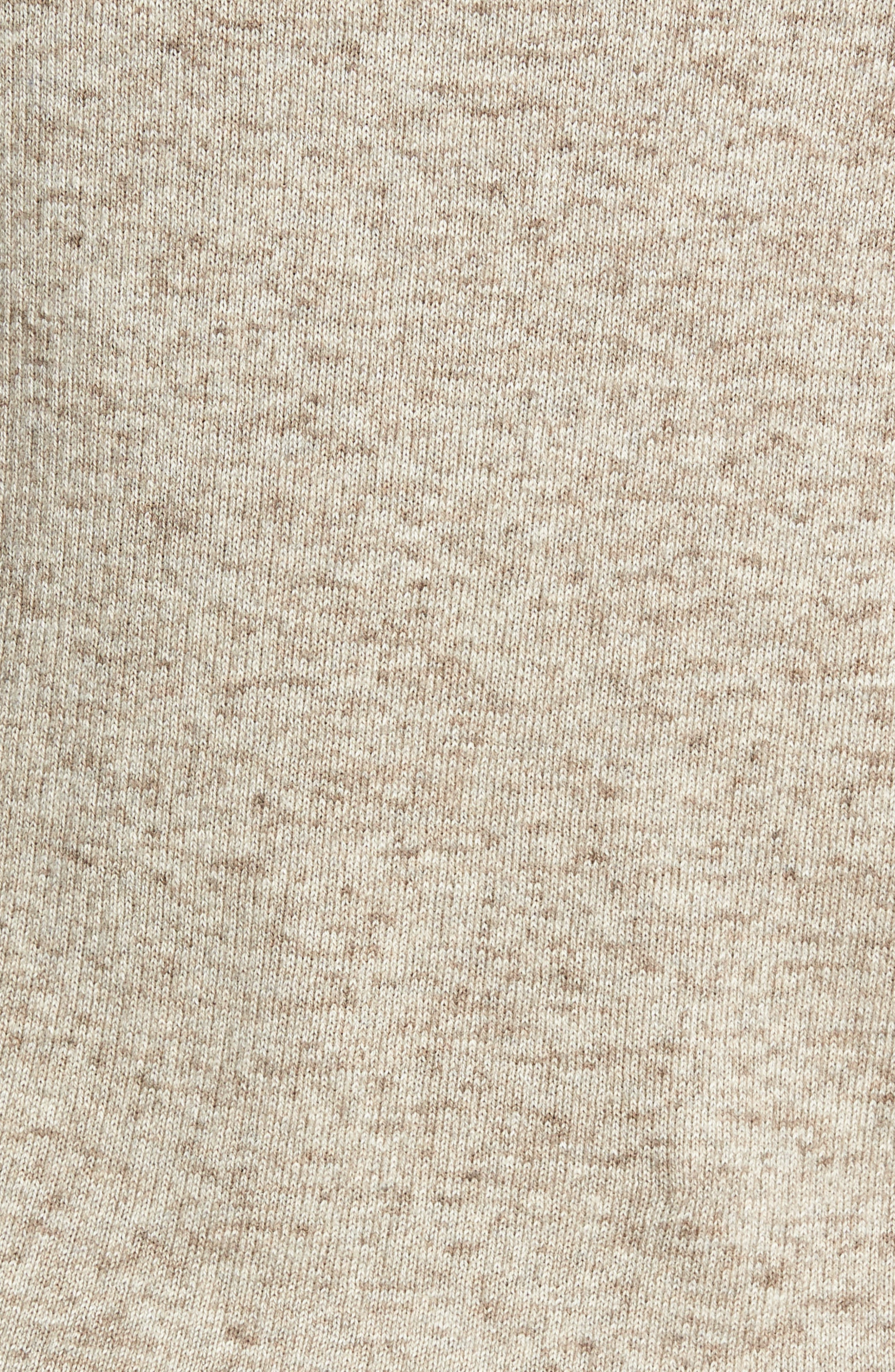 Cotton & Wool Henley Sweater,                             Alternate thumbnail 5, color,                             RYE
