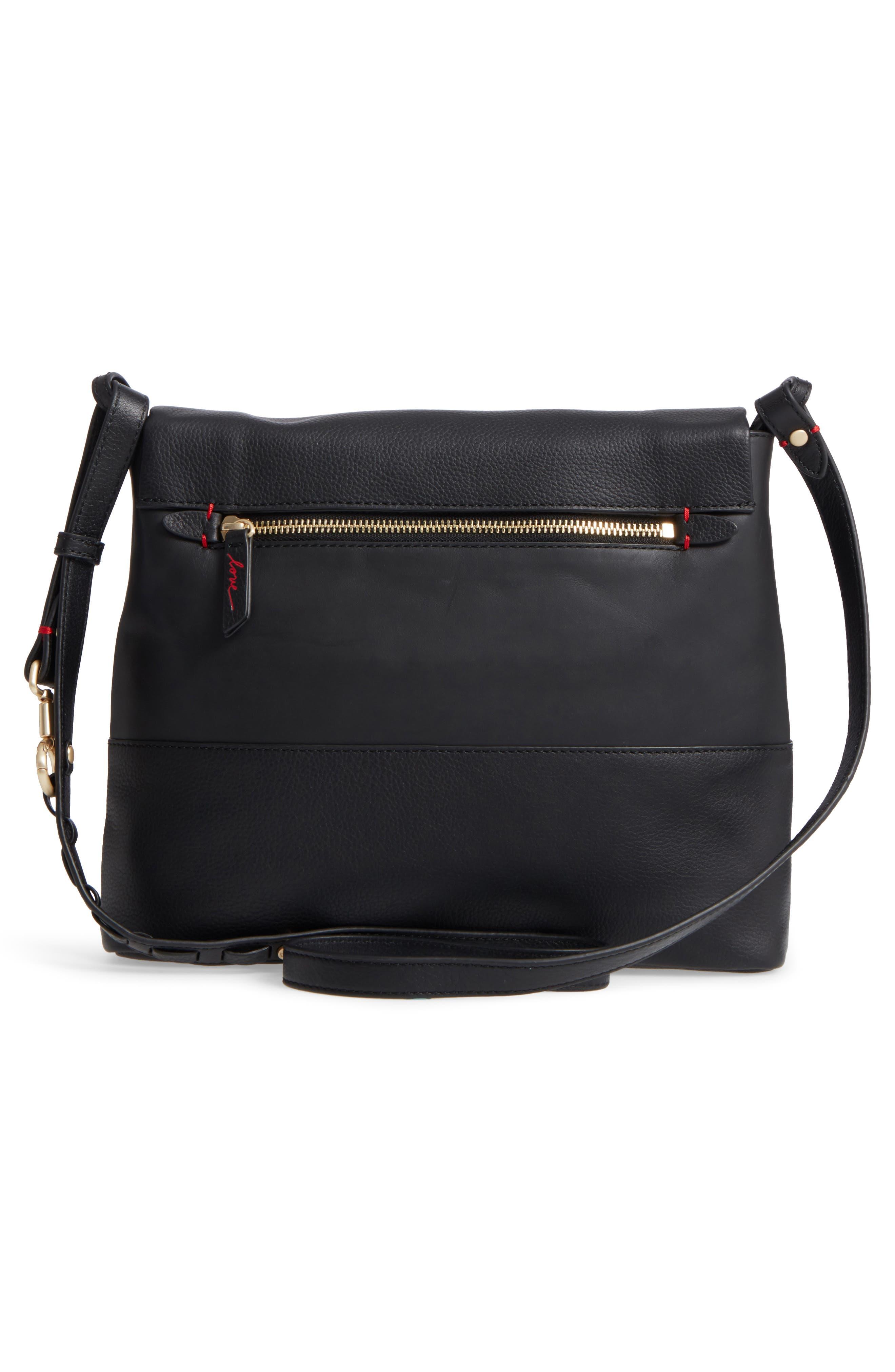 Medium Brea Crossbody Bag,                             Alternate thumbnail 3, color,                             001