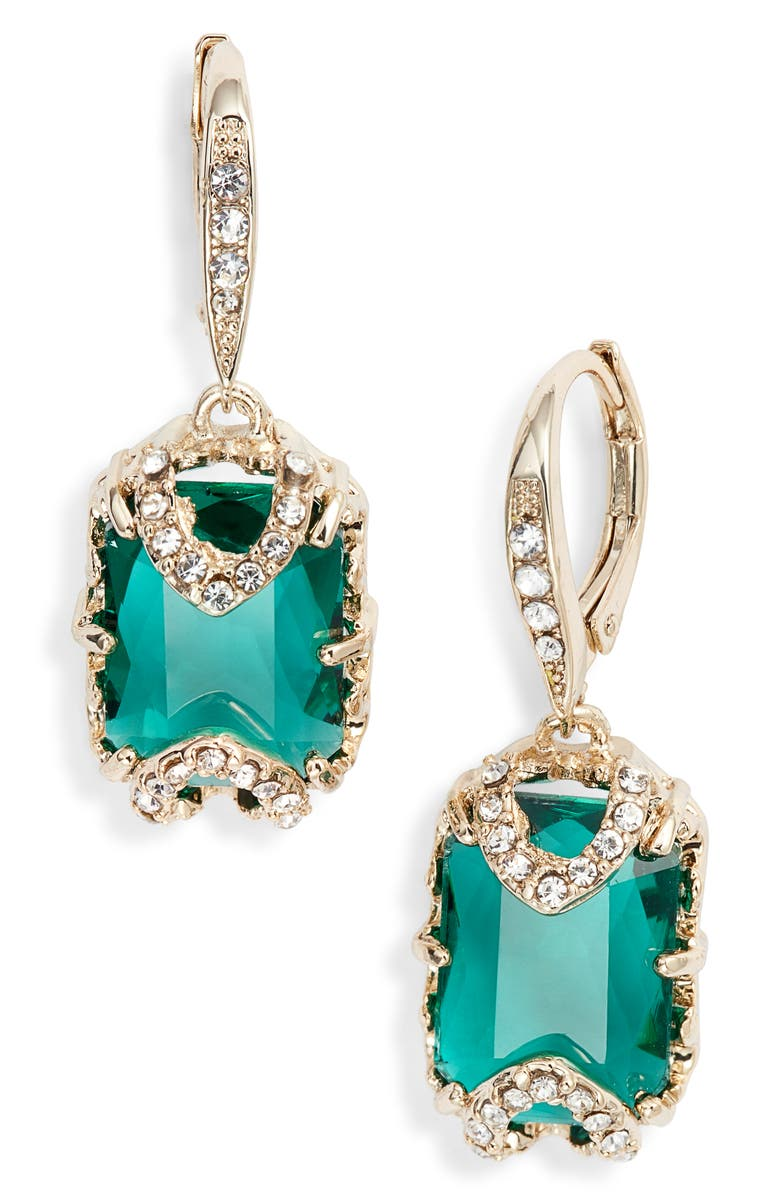 Jenny Packham STONE DROP EARRINGS