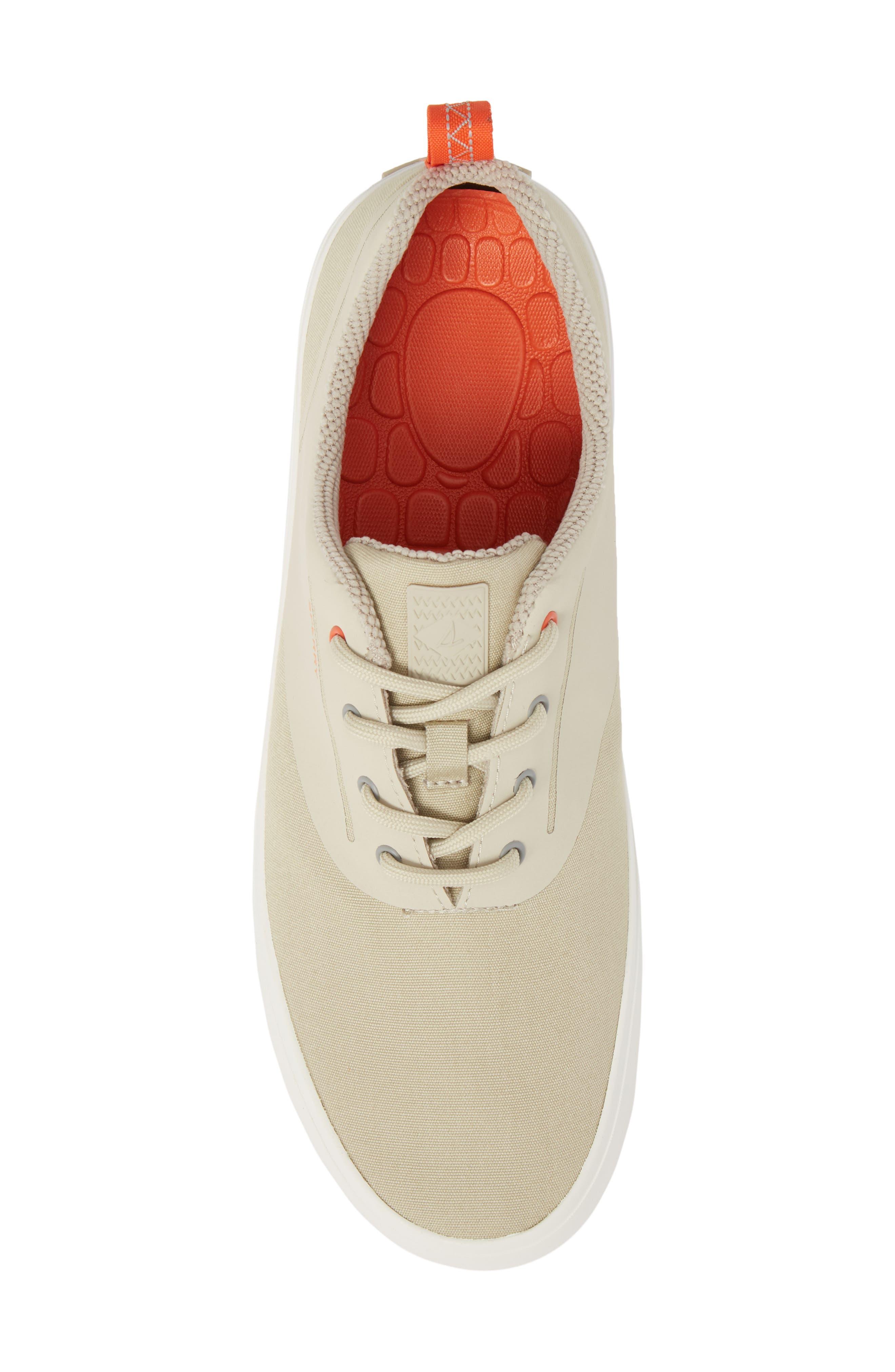 Flex Deck CVO Sneaker,                             Alternate thumbnail 5, color,                             BEIGE