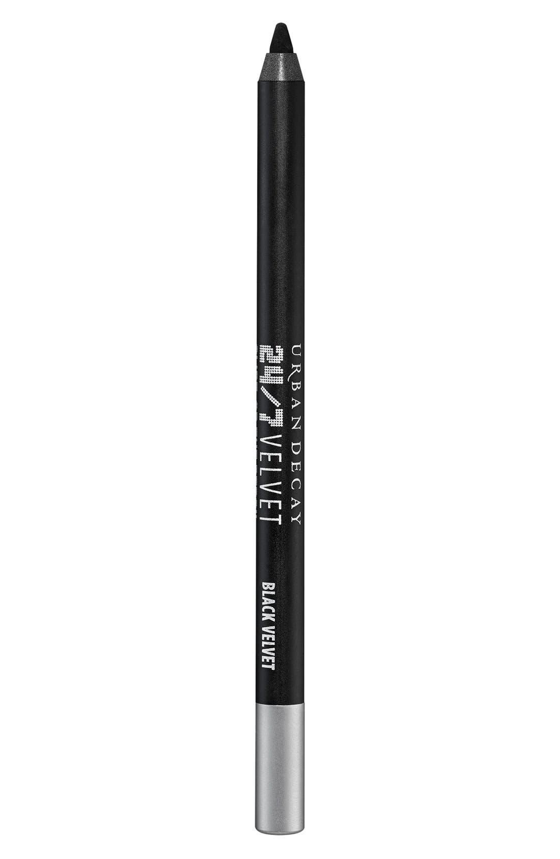 24/7 Velvet Glide-On Eye Pencil,                             Main thumbnail 1, color,                             001