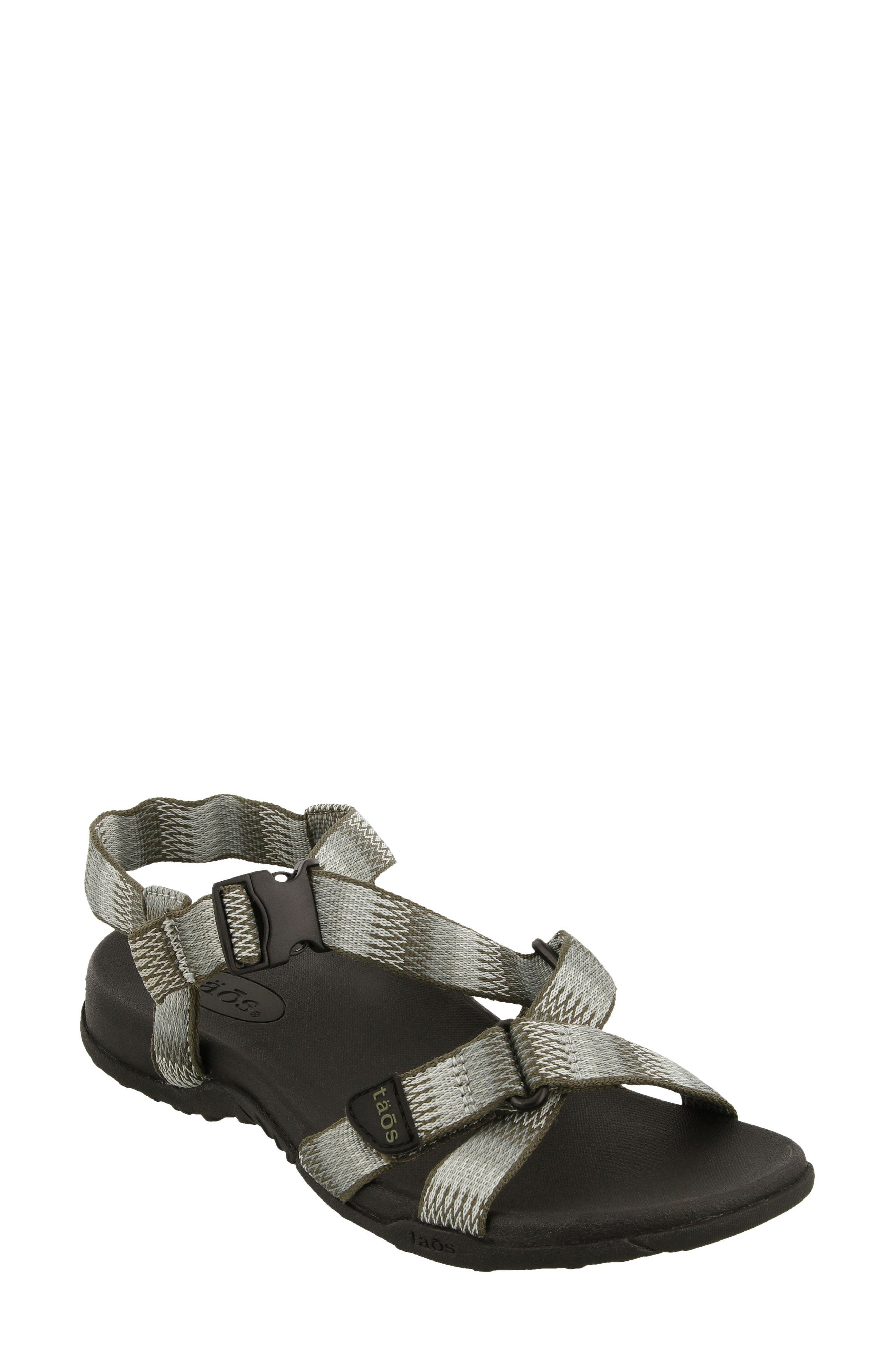 New Wave Sandal,                         Main,                         color, SAGE FABRIC