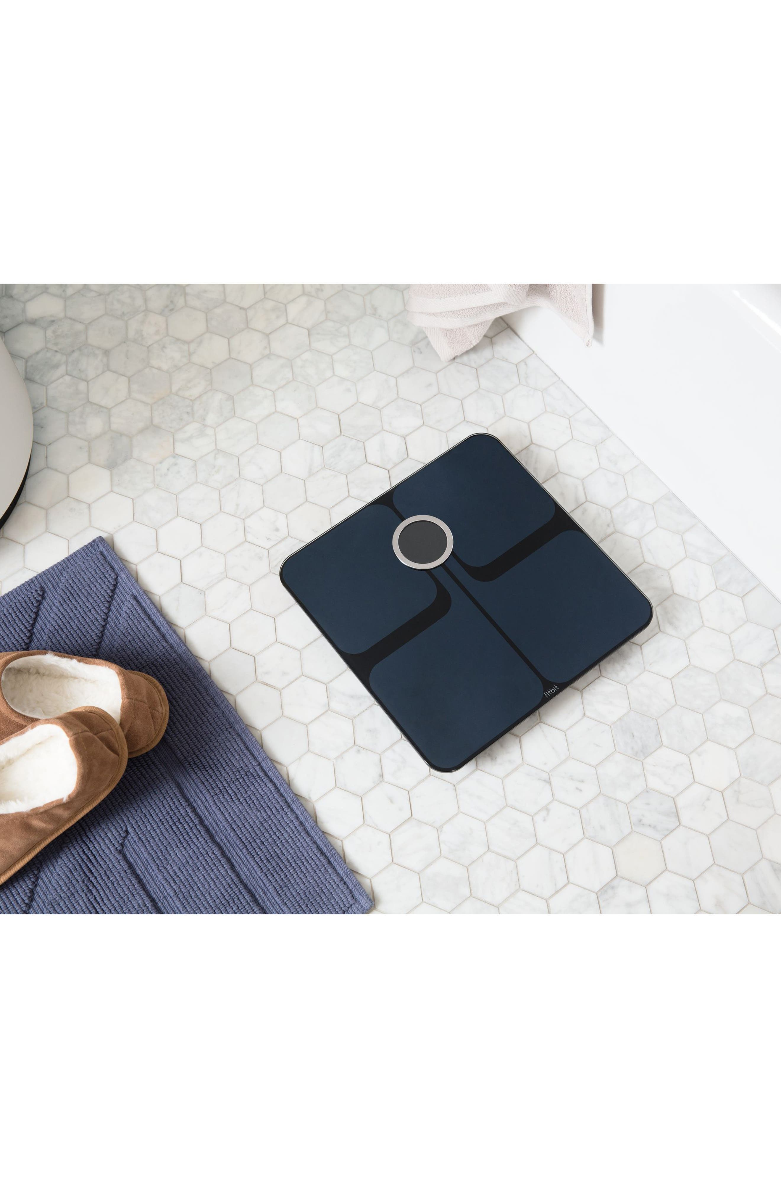 Aria 2 Wireless Smart Scale,                             Alternate thumbnail 3, color,                             BLACK