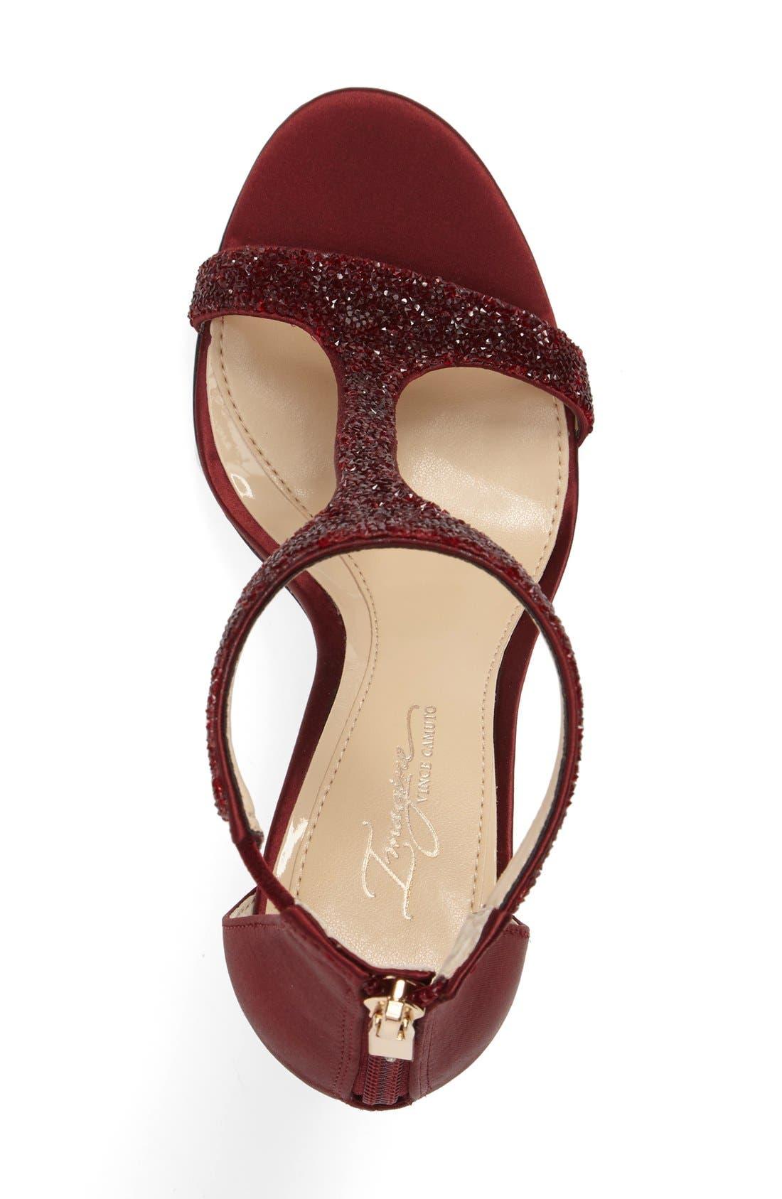 'Phoebe' Embellished T-Strap Sandal,                             Alternate thumbnail 71, color,
