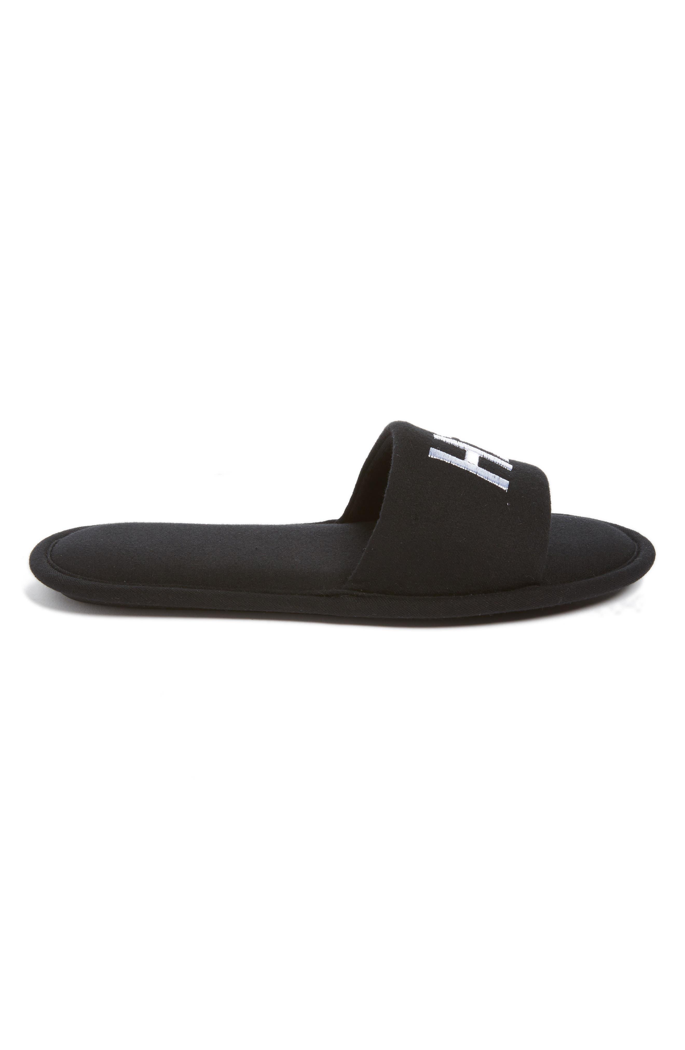 Hi & Bye Slide Slippers,                             Alternate thumbnail 3, color,                             001