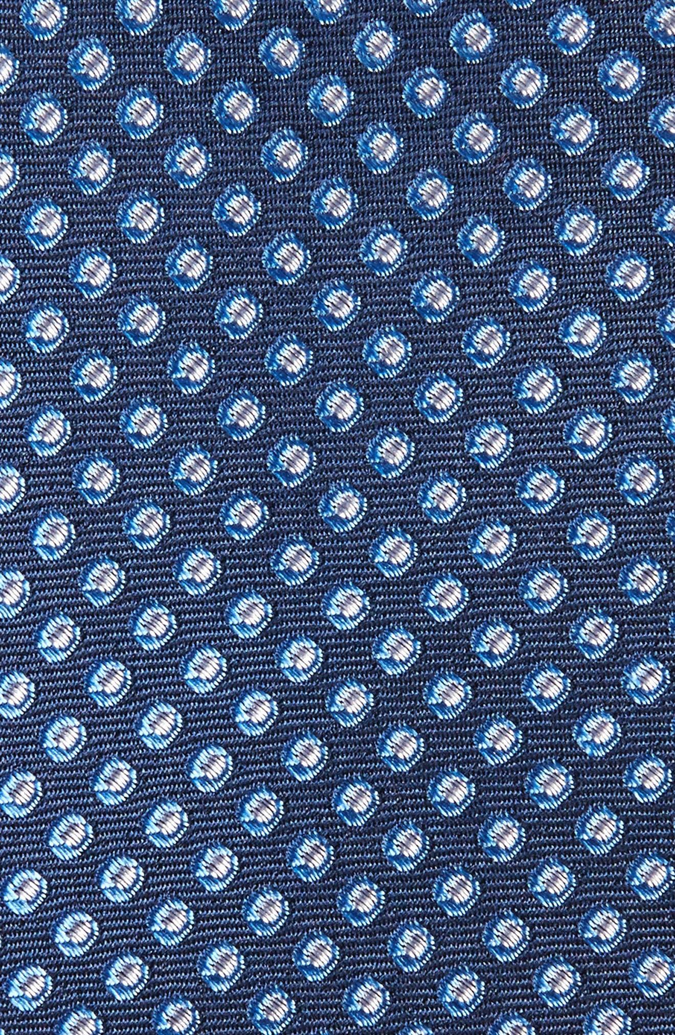 Oxford Dot Silk Tie,                             Alternate thumbnail 9, color,