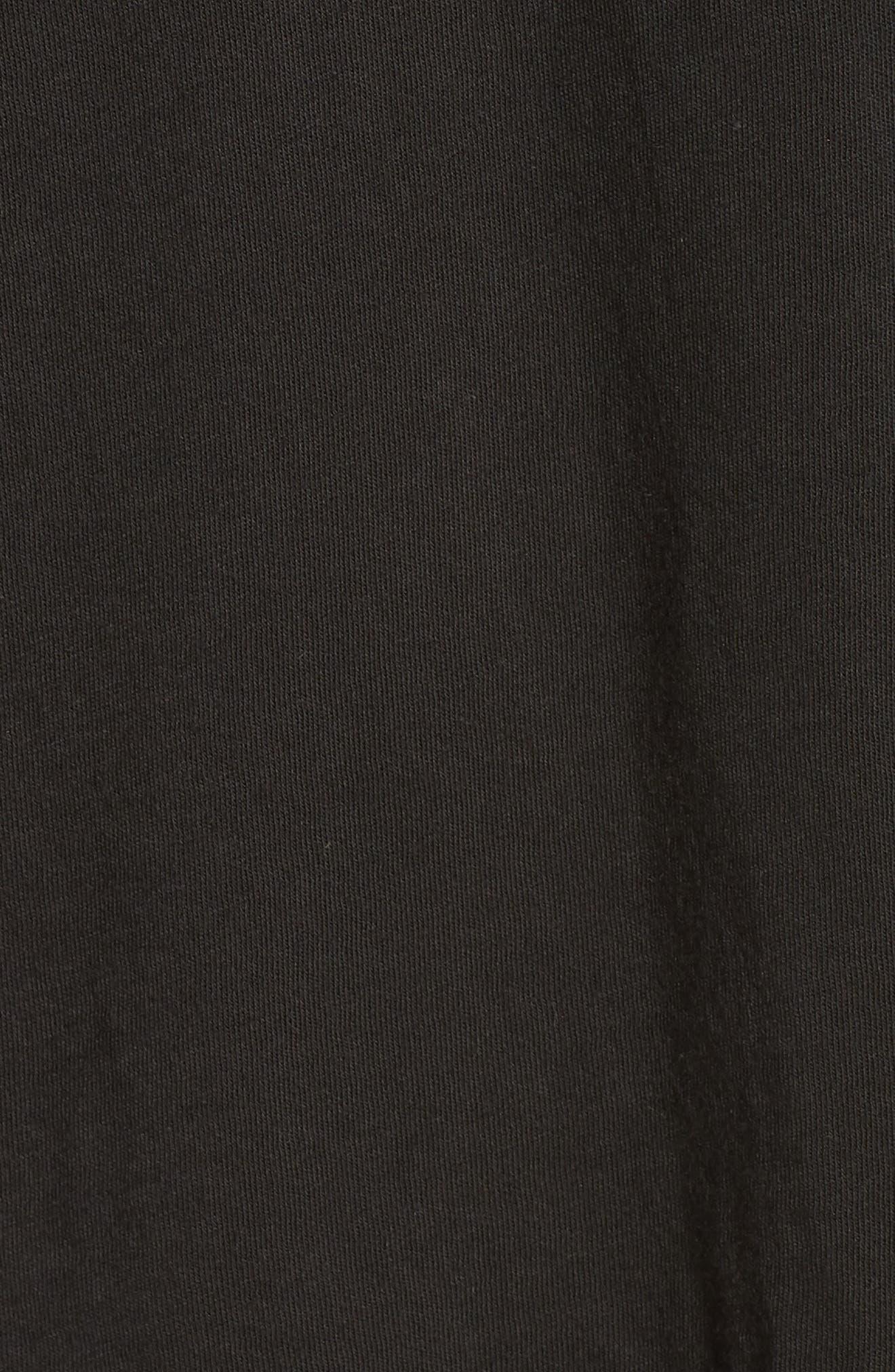Dove Cotton BlendTank Top,                             Alternate thumbnail 5, color,                             VINTAGE BLACK