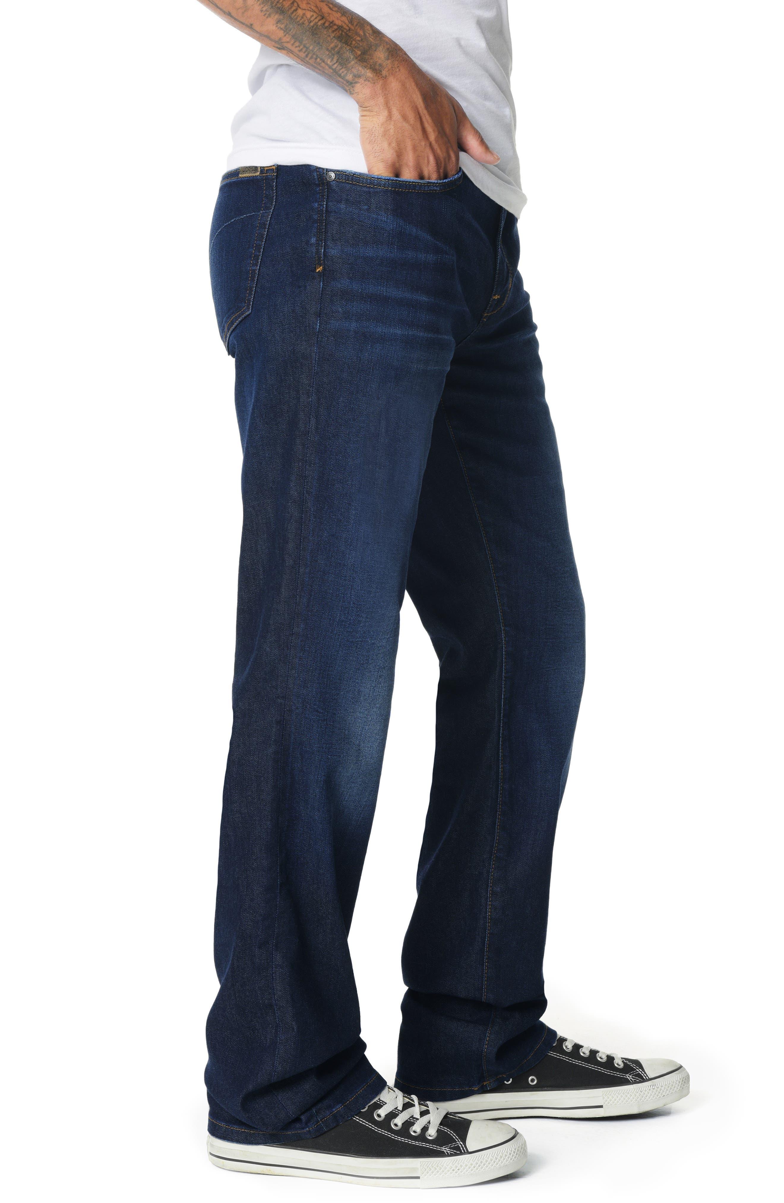 Classic Straight Leg Jeans,                             Alternate thumbnail 3, color,                             JORDAN