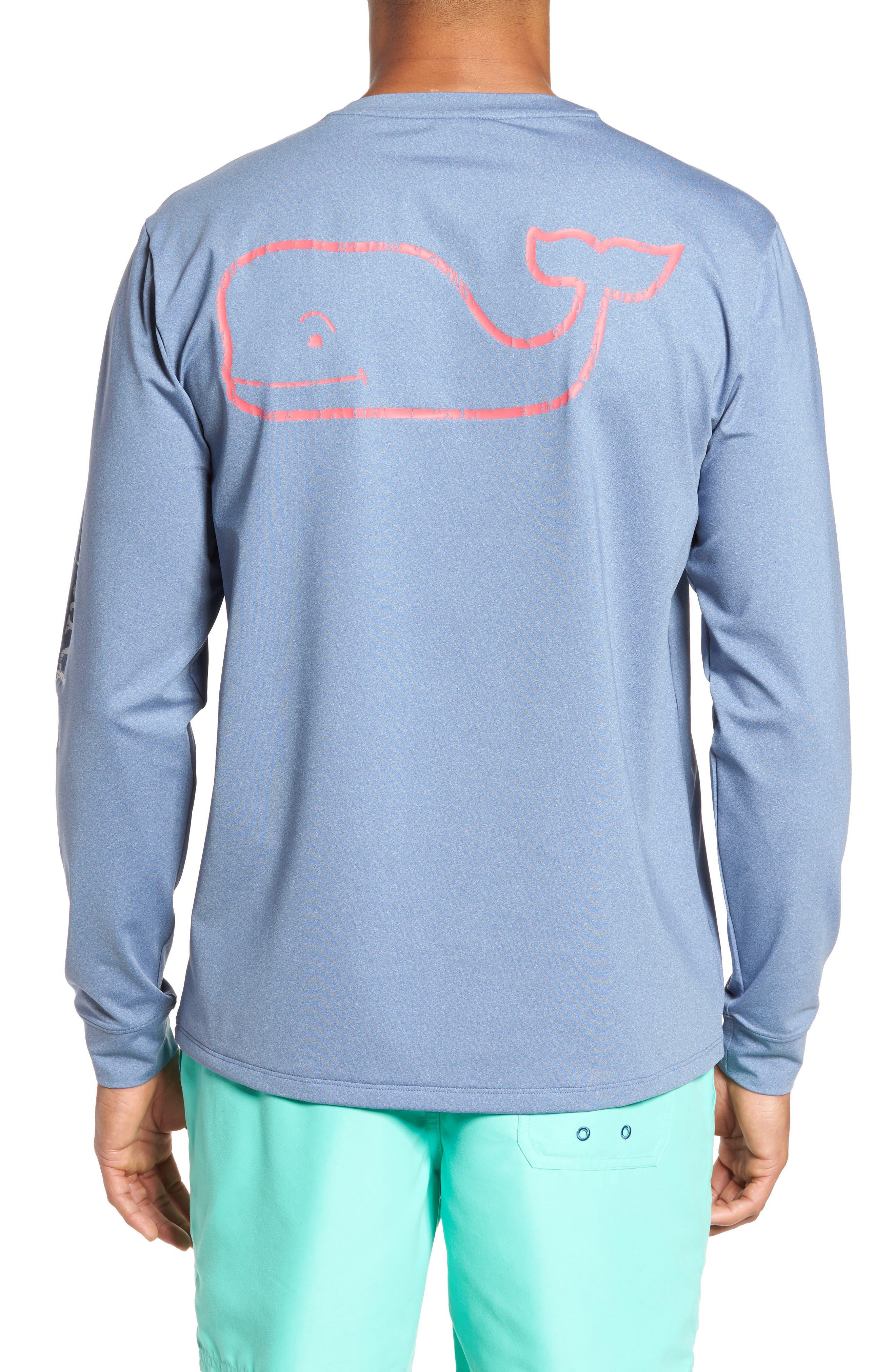 Vintage Whale Performance T-Shirt,                             Alternate thumbnail 5, color,