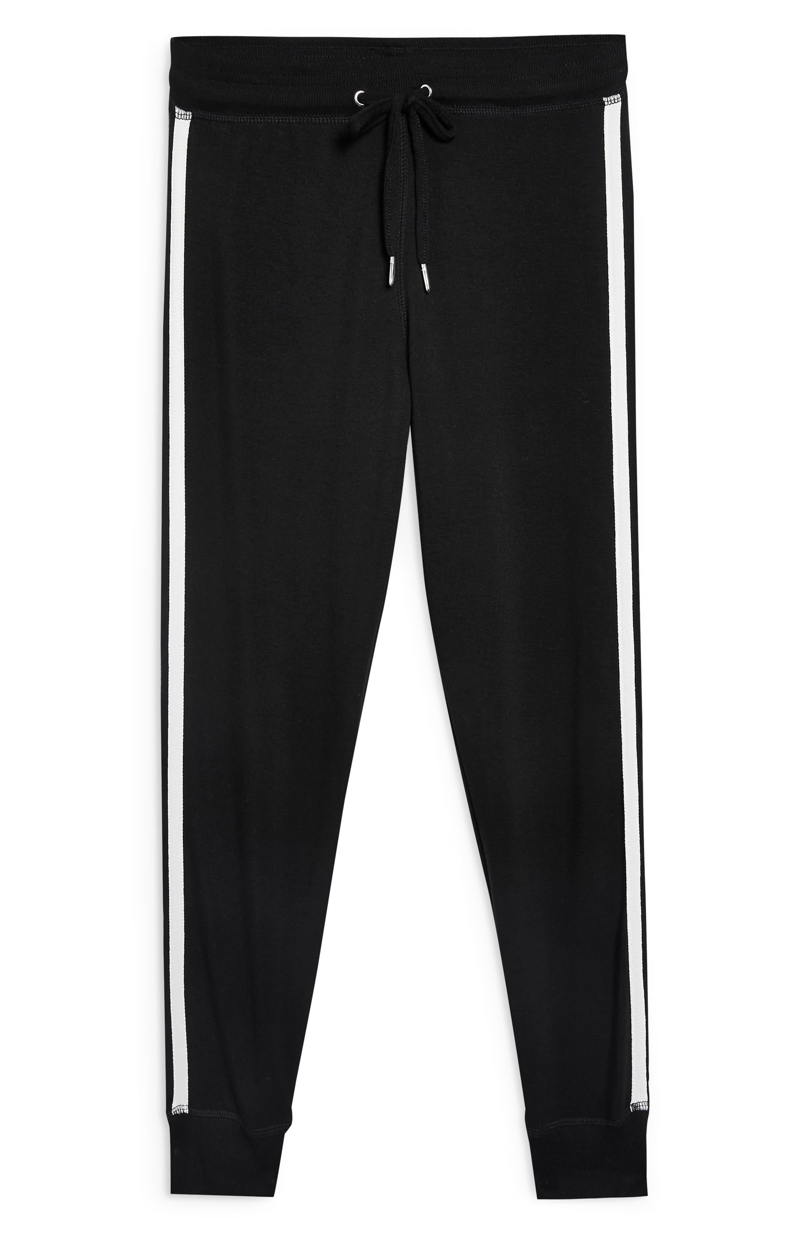 Side Stripe Jogger Pants,                             Alternate thumbnail 3, color,                             001