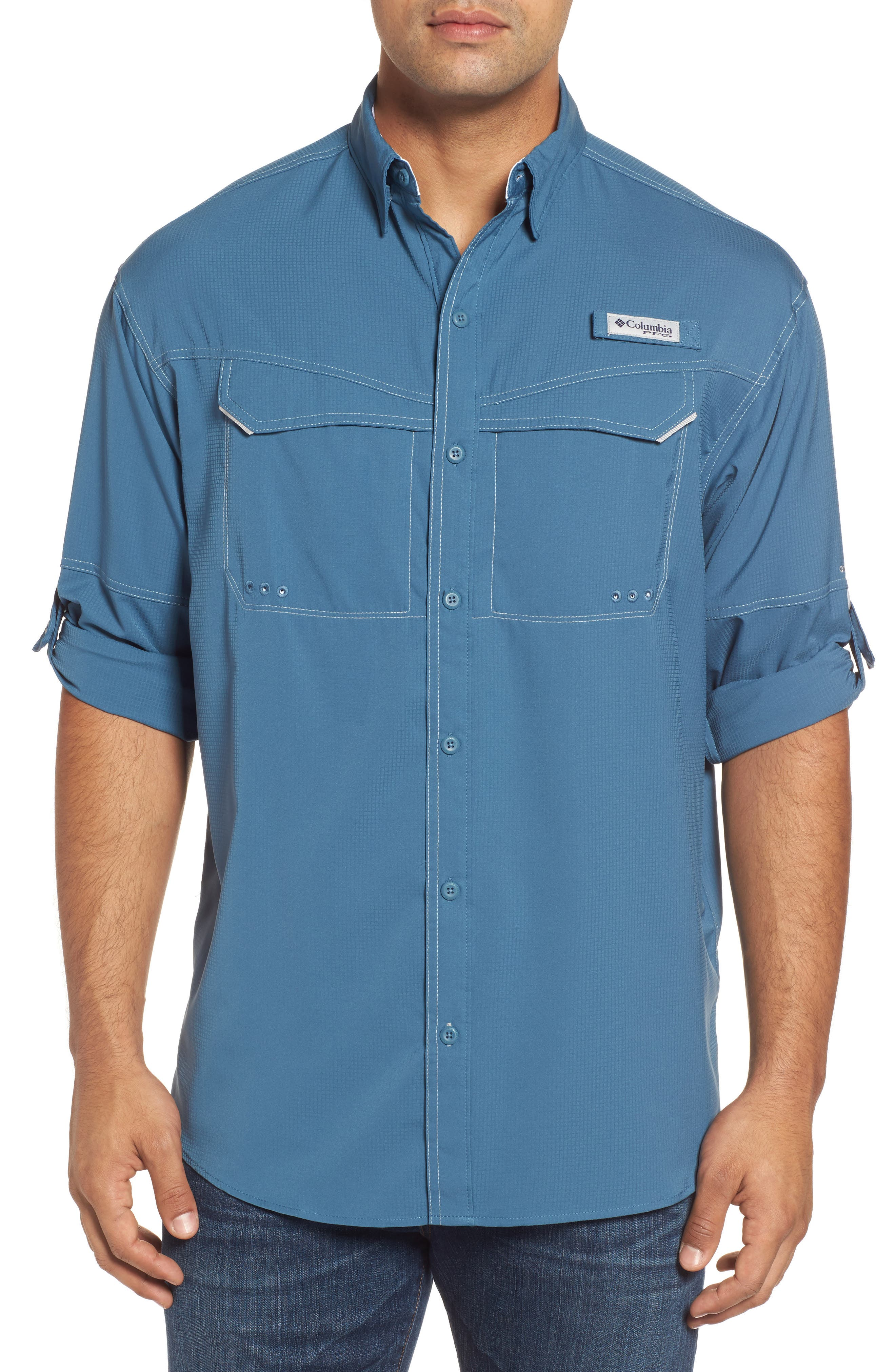 Low Drag Offshore Woven Shirt,                             Main thumbnail 3, color,