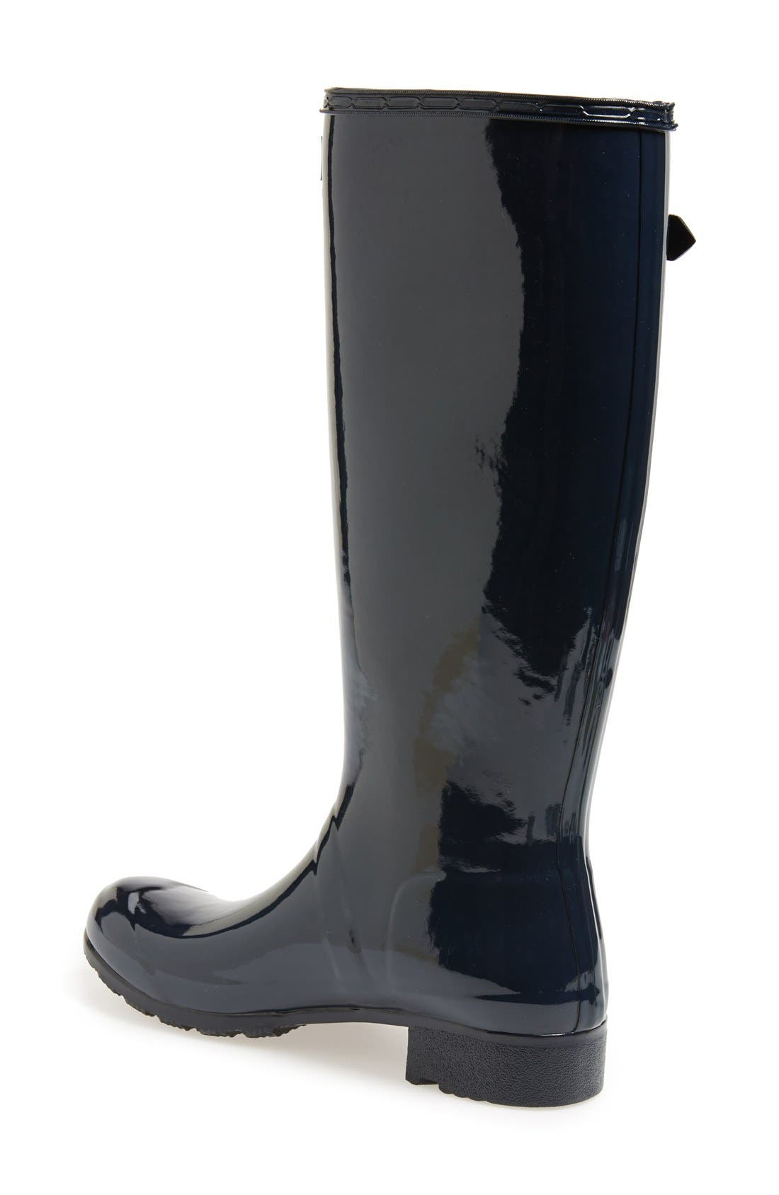 Original Tour Gloss Packable Rain Boot,                             Alternate thumbnail 36, color,