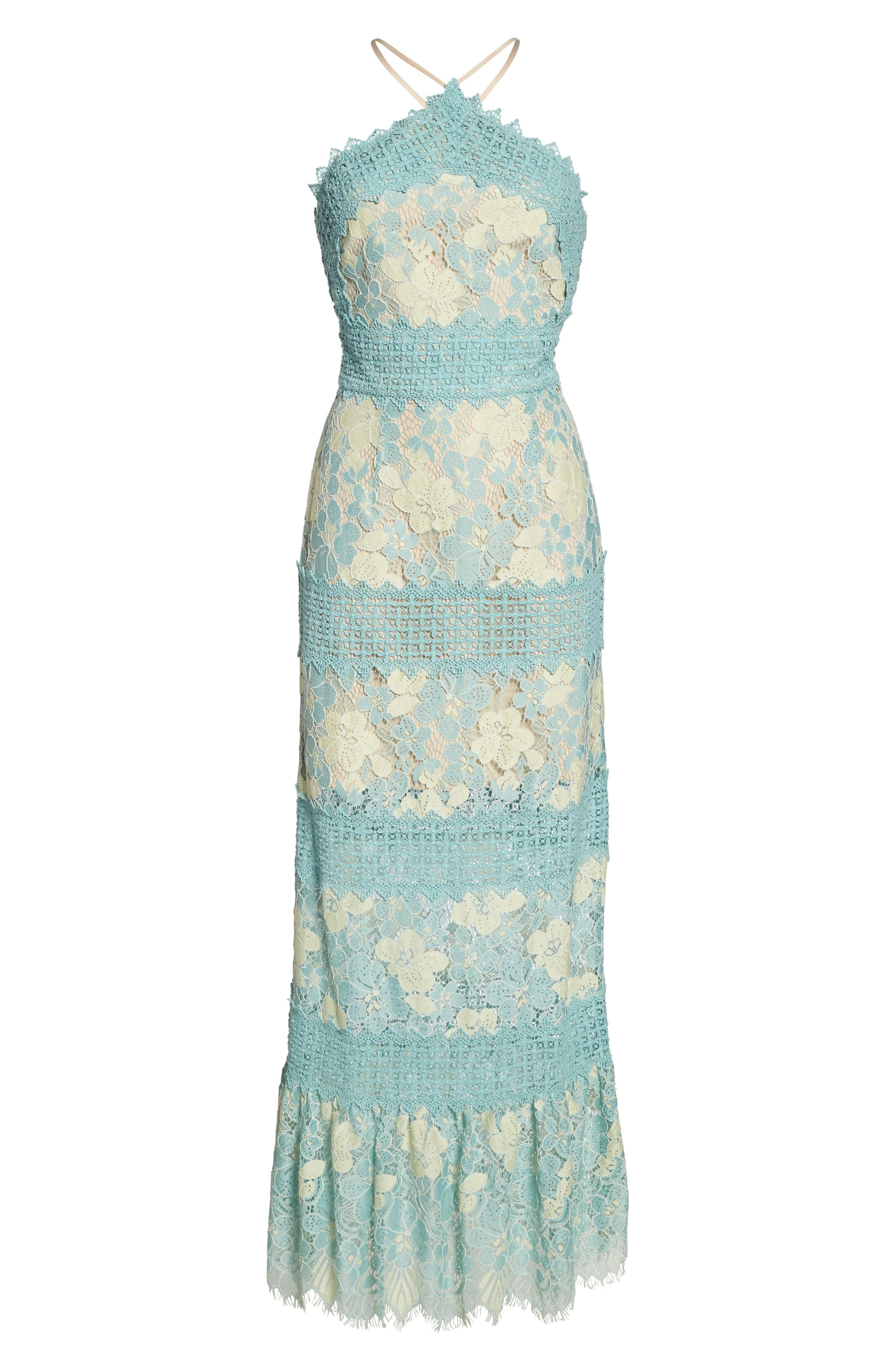 Tabitha Lace Maxi Dress,                             Alternate thumbnail 12, color,