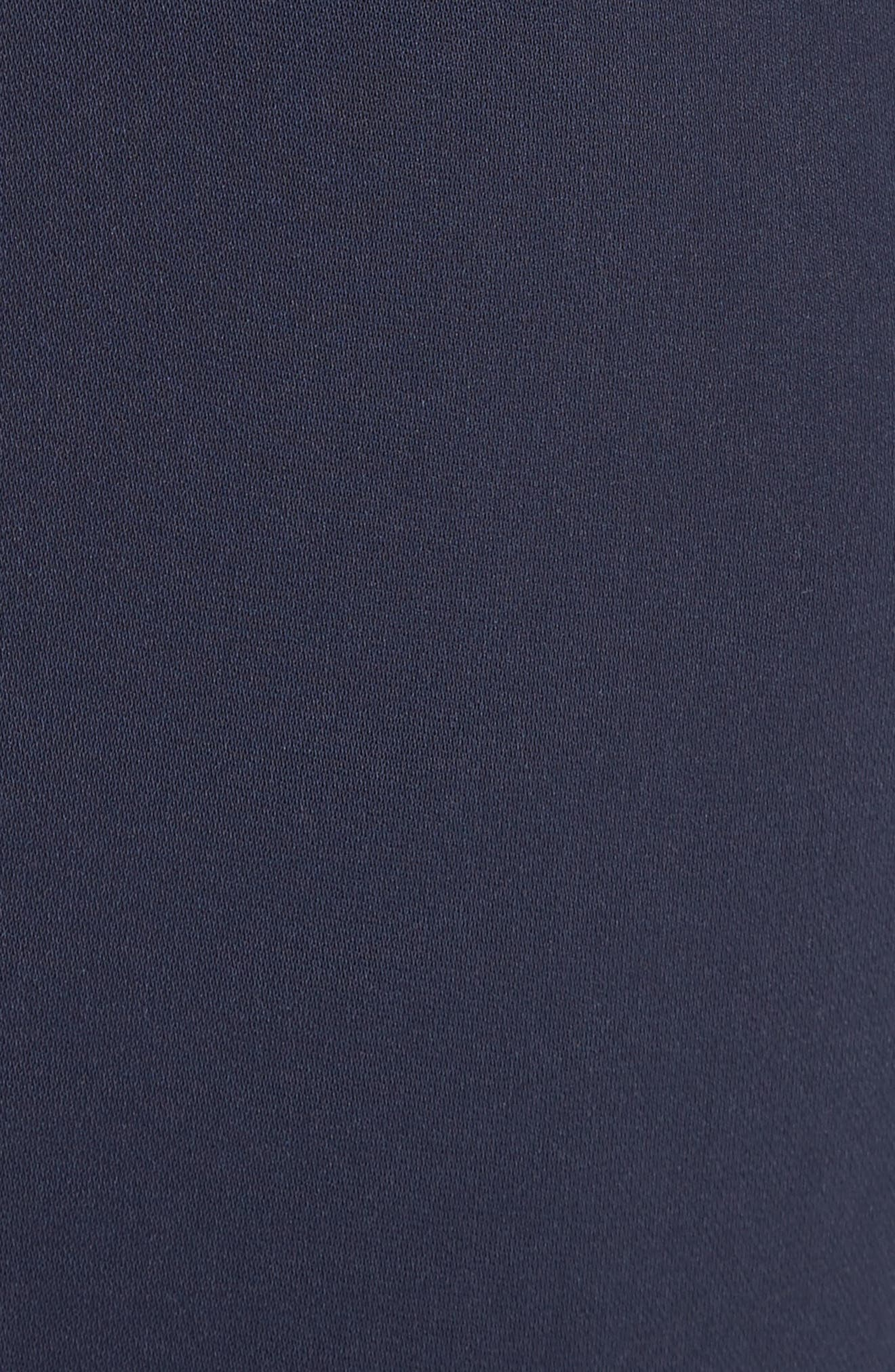 Diana Classic Cady Stretch Pants,                             Alternate thumbnail 5, color,                             NAVY