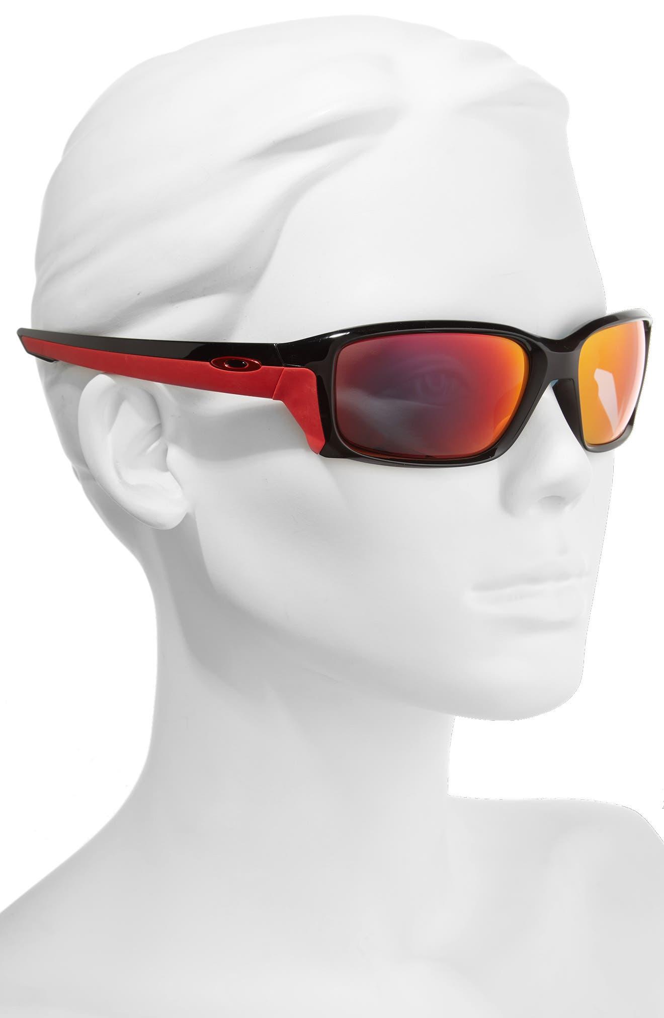 Straightlink 61mm Polarized Sunglasses,                             Alternate thumbnail 2, color,                             001