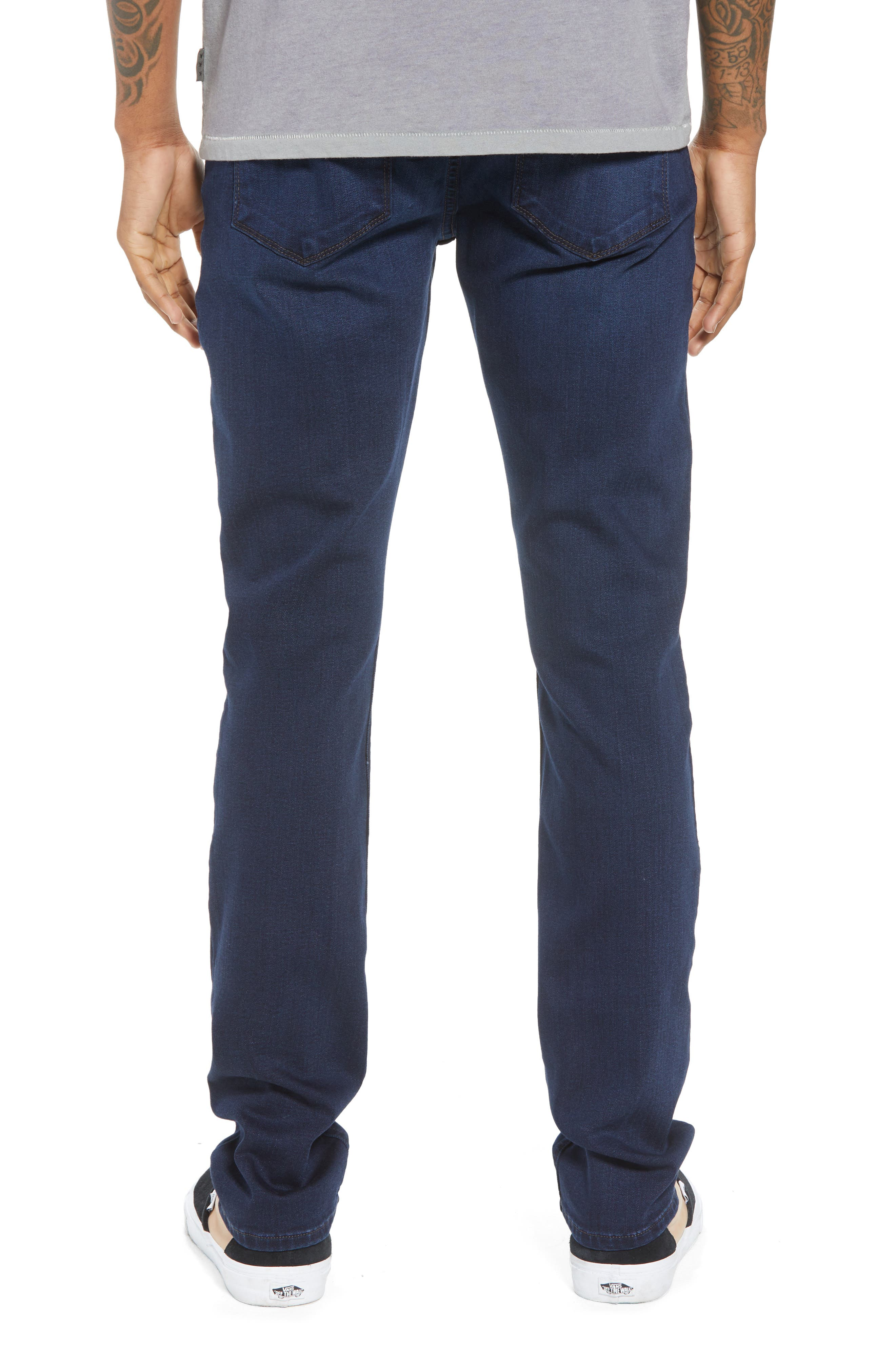 Transcend - Croft Skinny Fit Jeans,                             Alternate thumbnail 2, color,                             HAYWORD