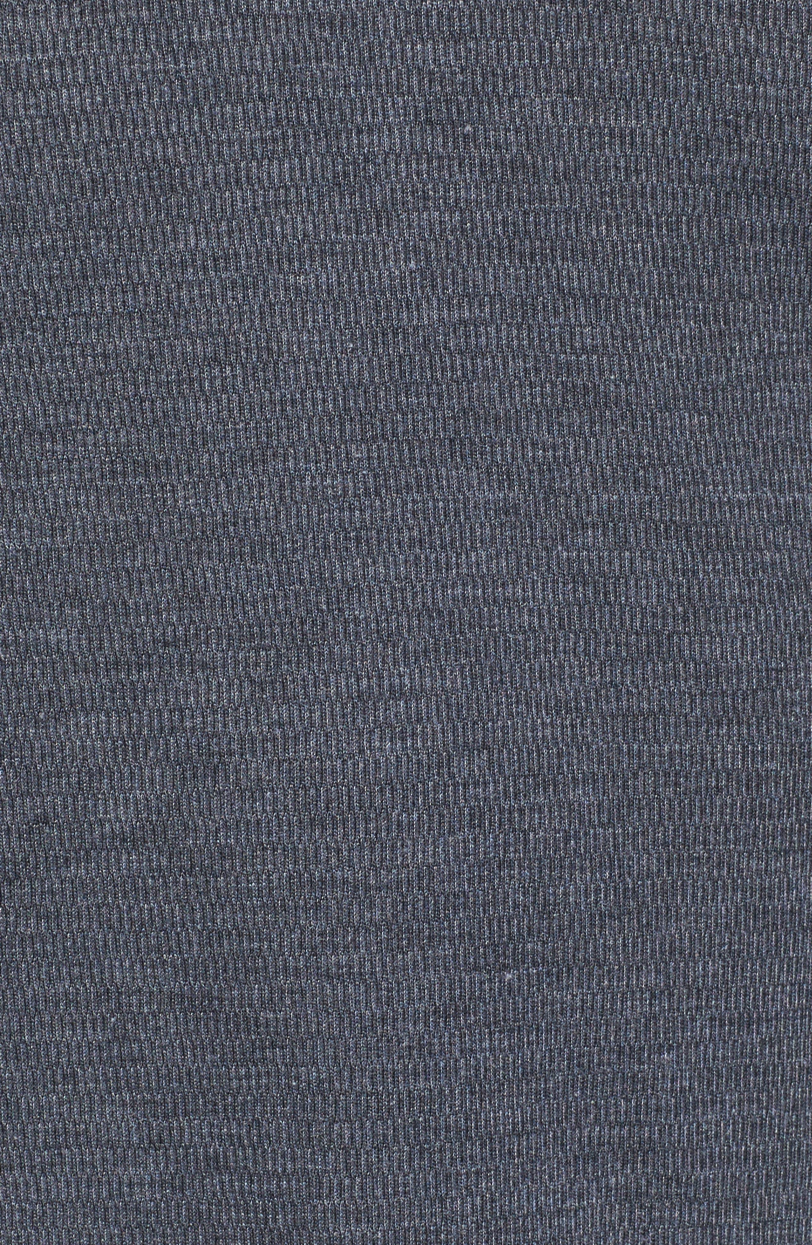 THE RAIL,                             Notch Neck Thermal T-Shirt,                             Alternate thumbnail 5, color,                             001