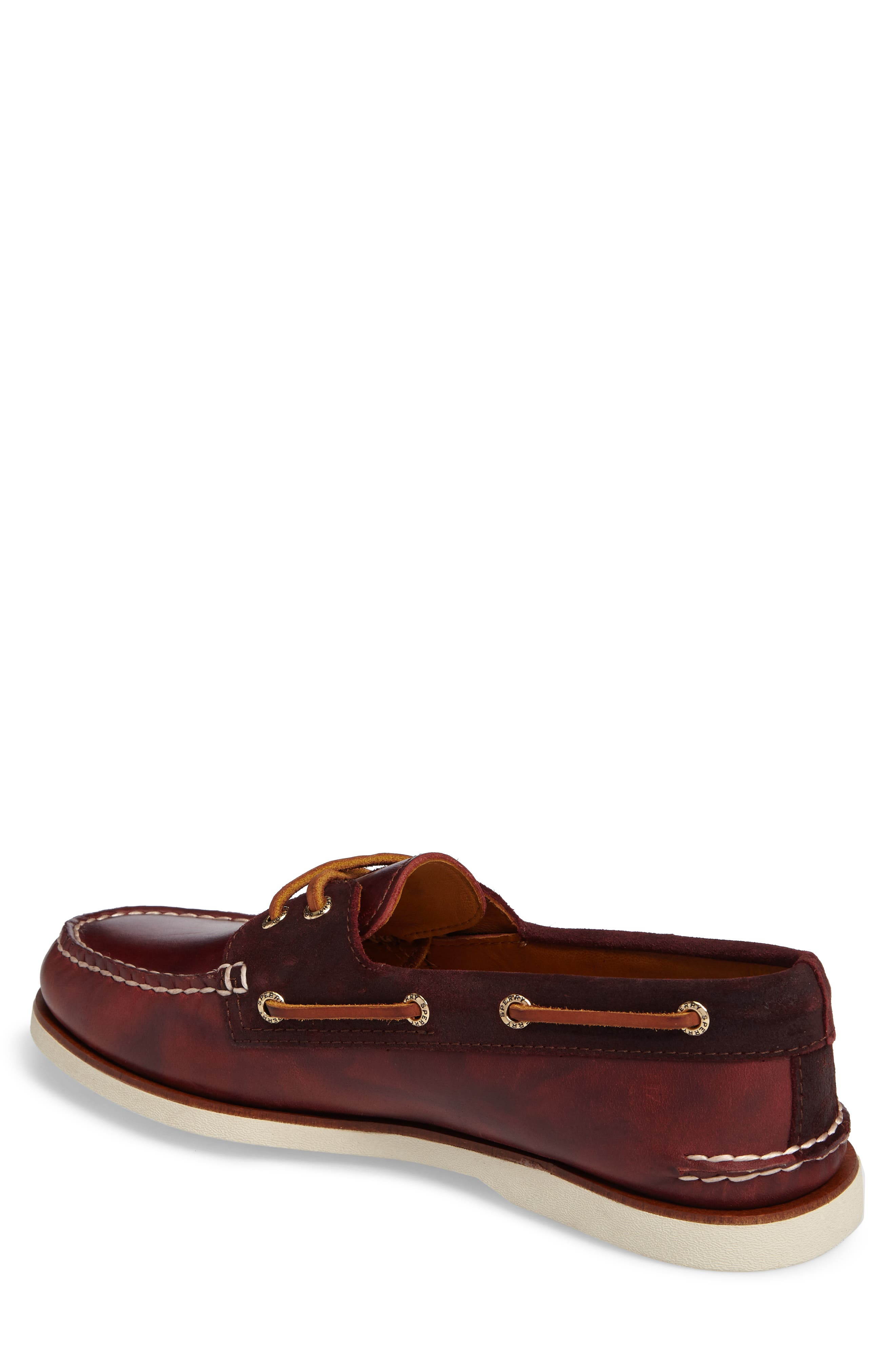 Gold Cyclone Boat Shoe,                             Alternate thumbnail 2, color,                             931
