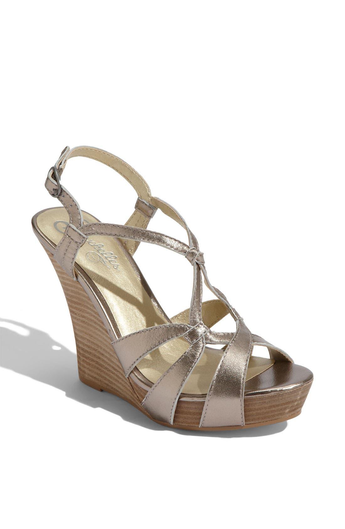 'Purr' Wedge Sandal,                         Main,                         color,
