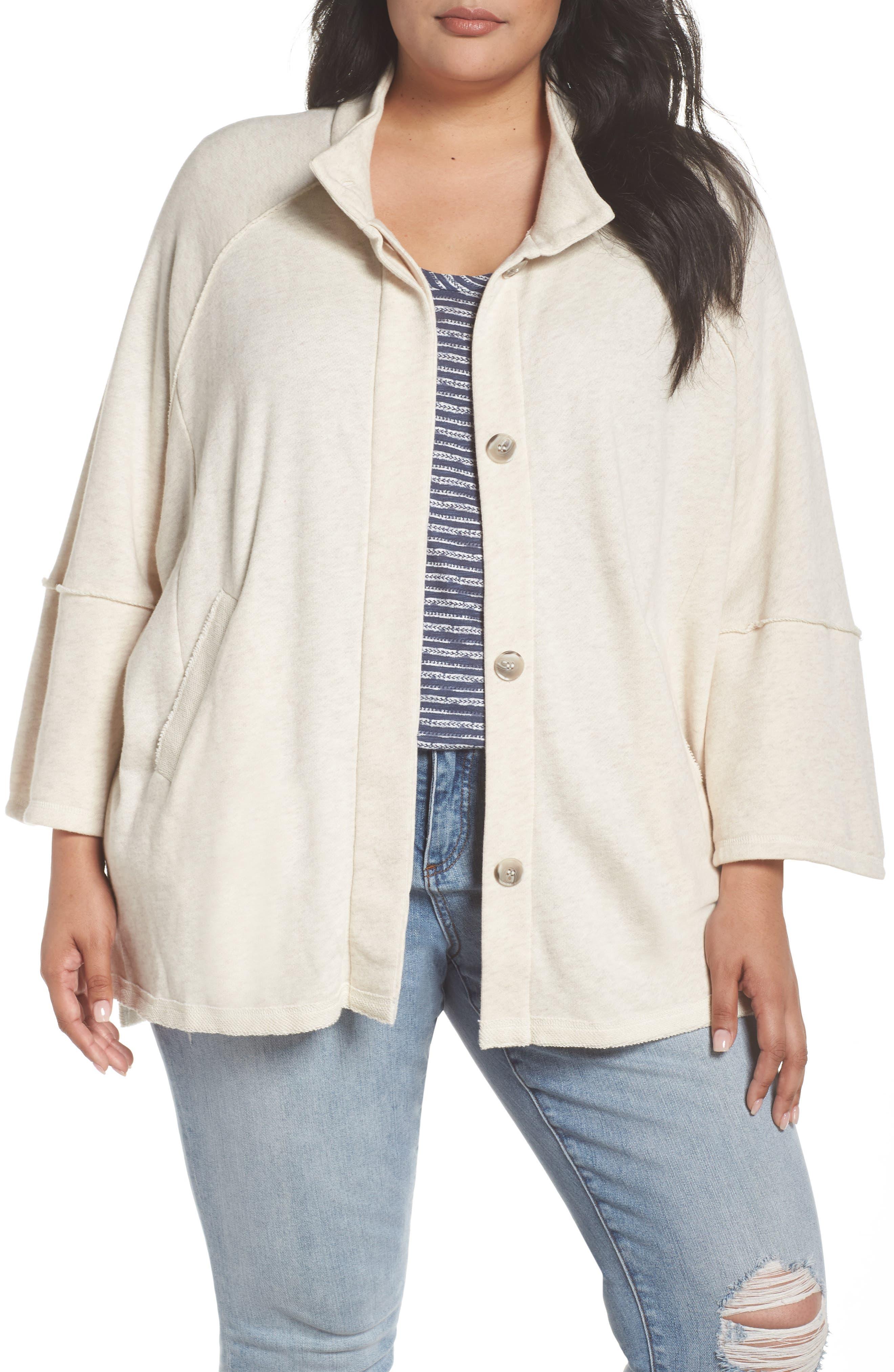 Button Front Knit Jacket,                         Main,                         color, 270