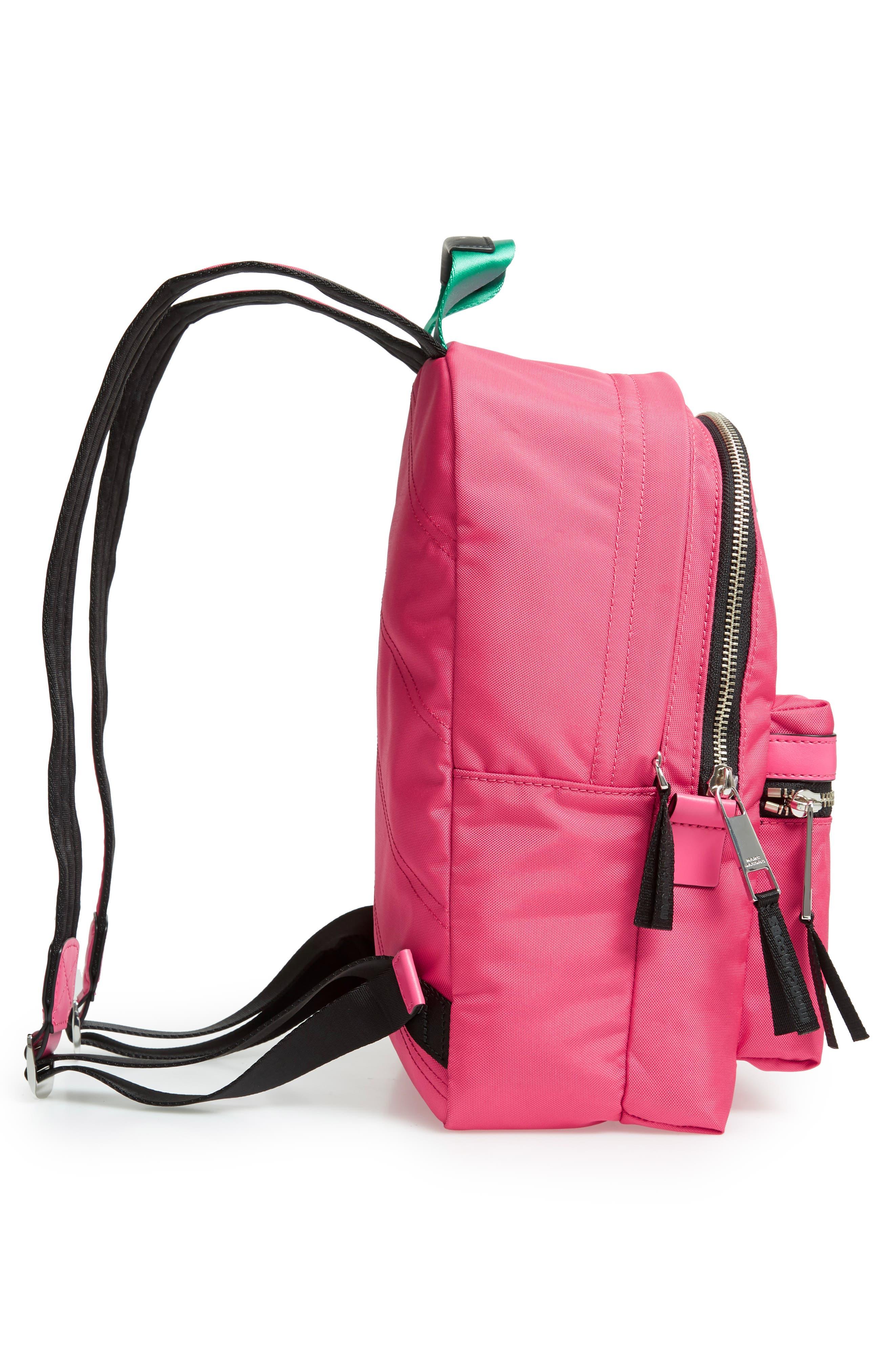 Medium Sport Trek Backpack,                             Alternate thumbnail 5, color,                             PEONY