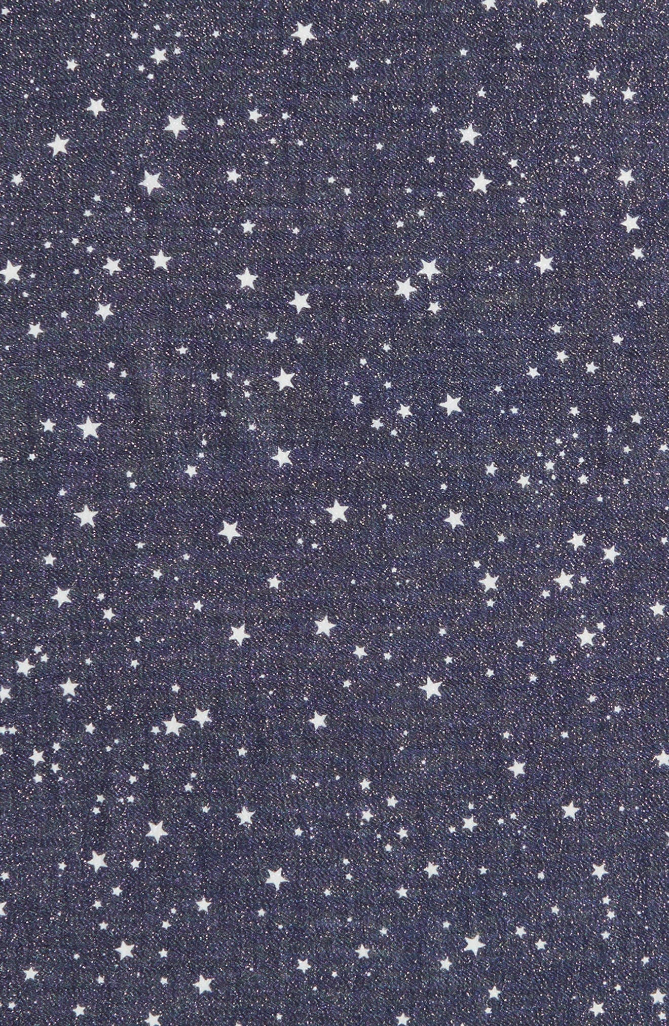 night sky wool blend scarf,                             Alternate thumbnail 4, color,                             415