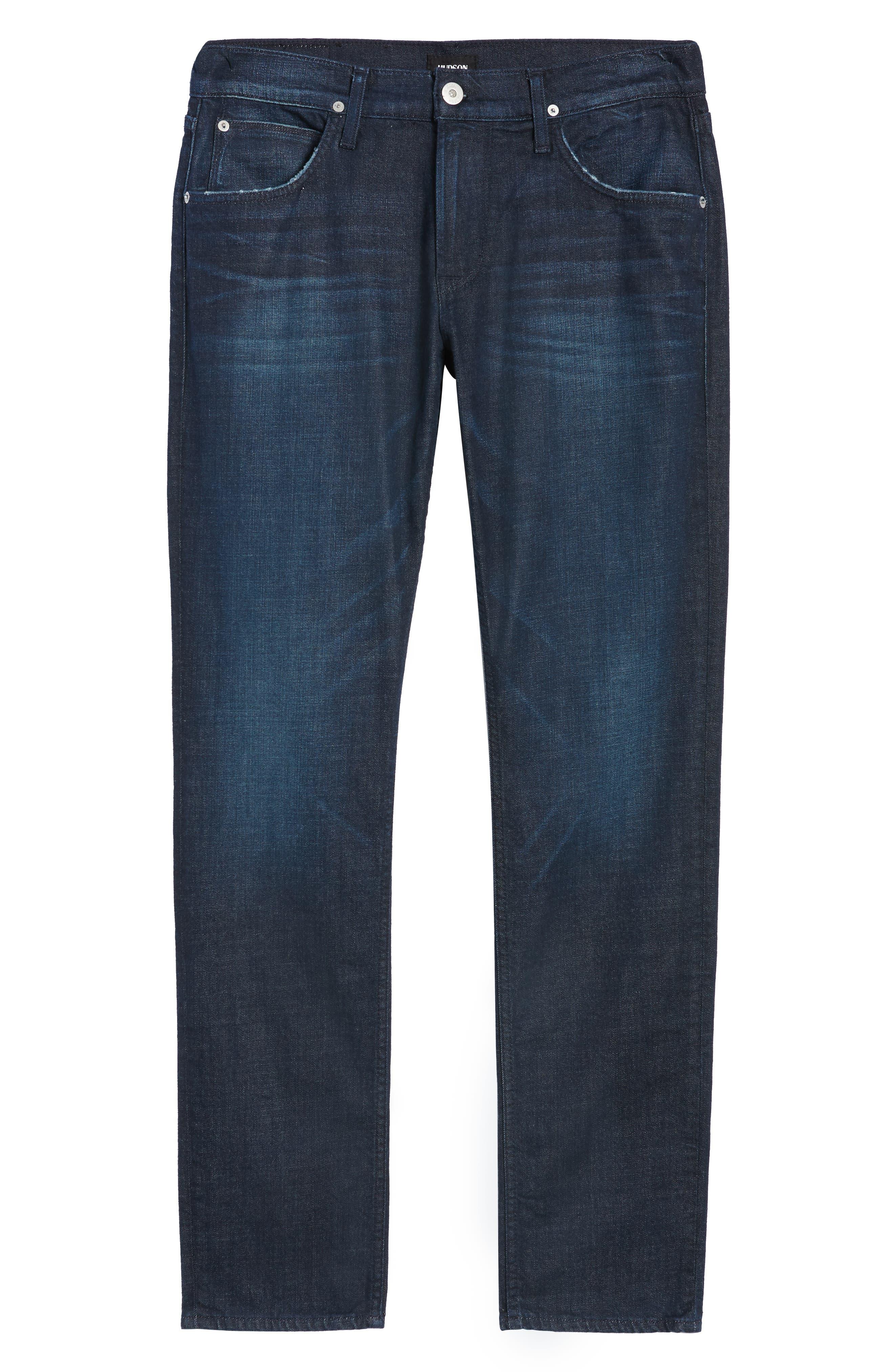 Blake Slim Fit Jeans,                             Alternate thumbnail 6, color,                             BARRY